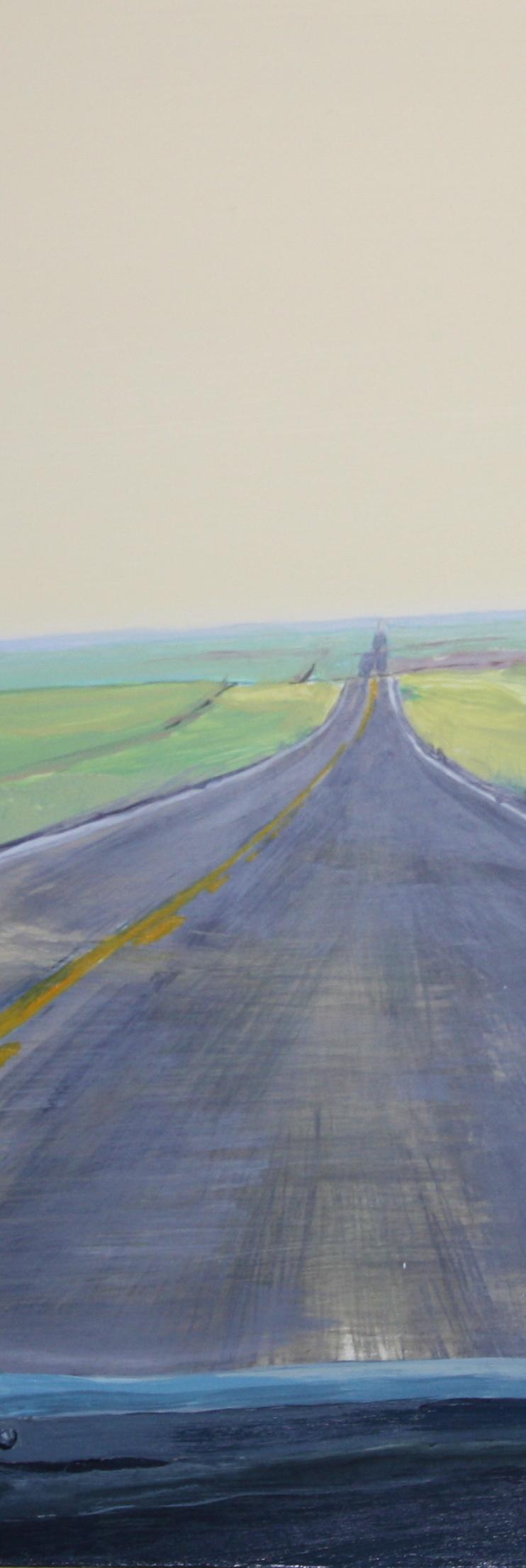 12 Roads: Paintings by Louie Va #3