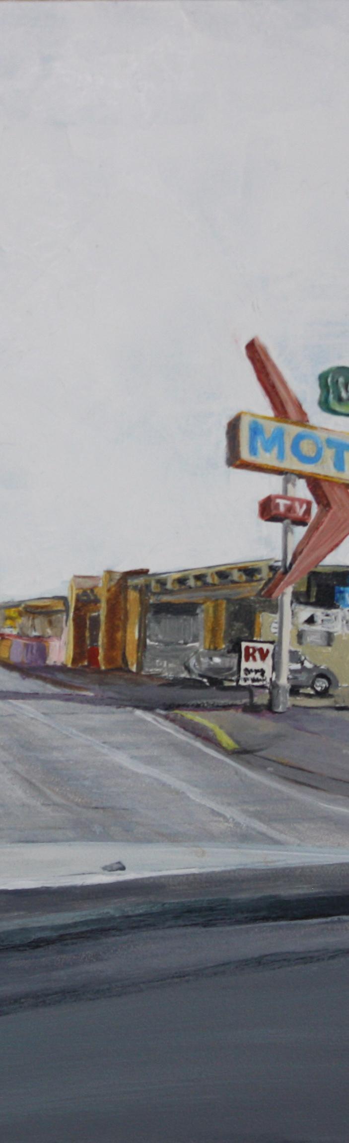 12 Roads: Paintings by Louie Va #4