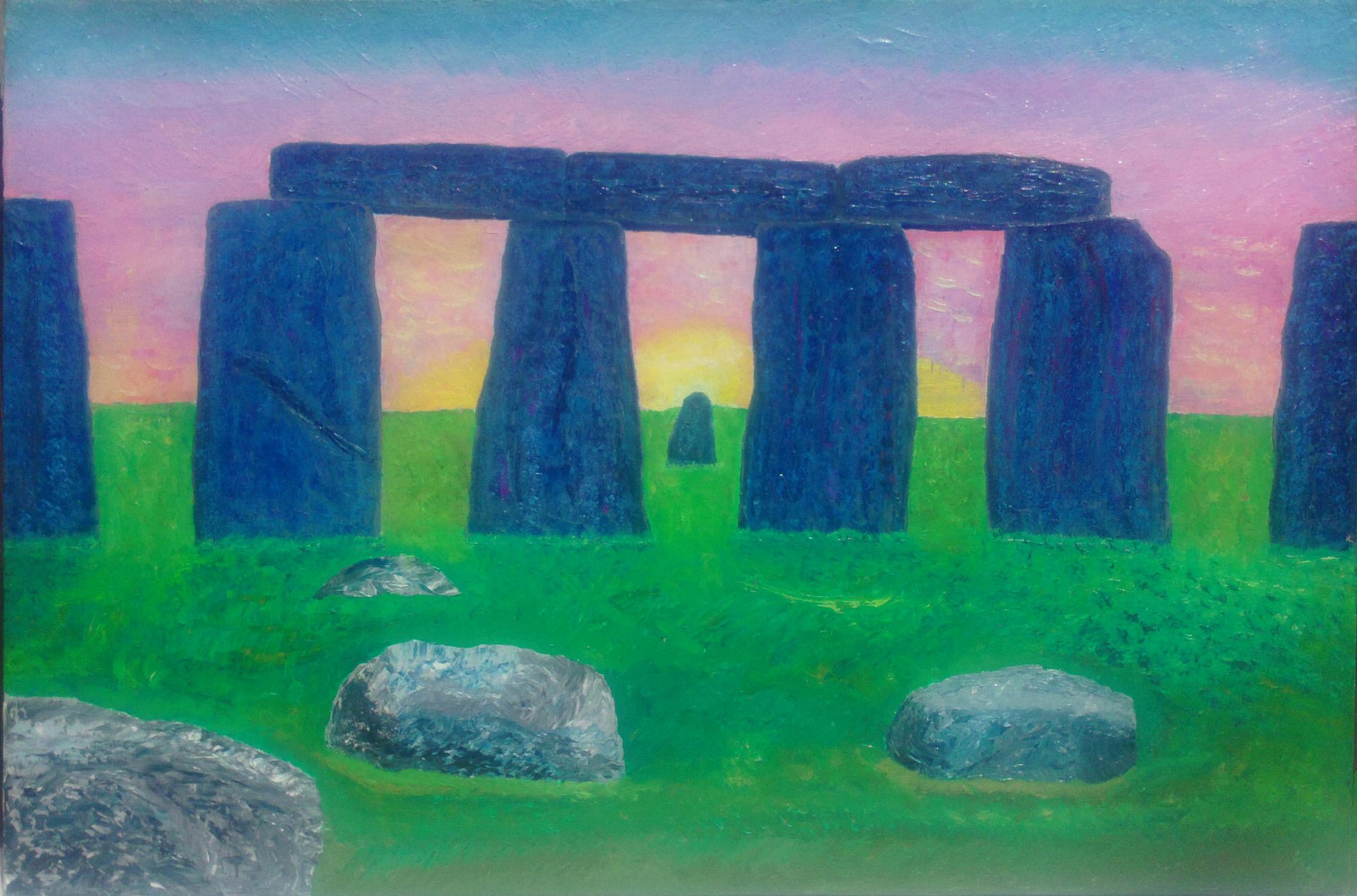 Stonehenge by John Ashbaugh