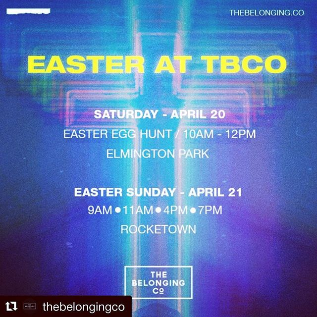 I love Easter!!! Come celebrate with us 🕊🕊@thebelongingco