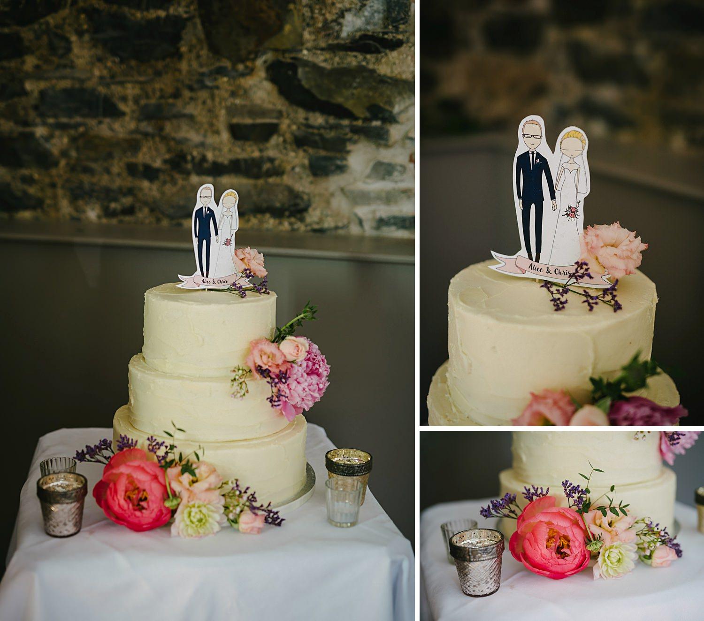 amazing wedding cake by lily pink bakery Nothern Ireland NI