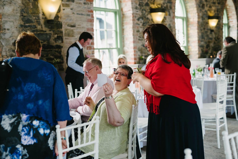 get photographs printed onto polaroids for wedding