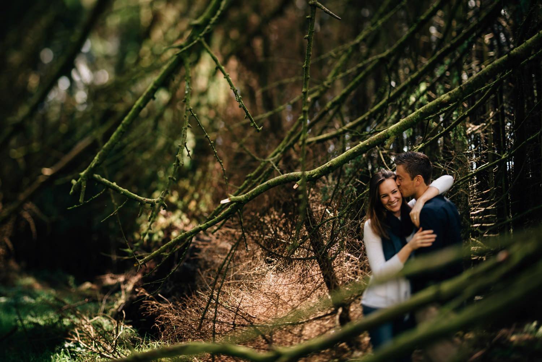 Wedding photography Northern Ireland Mourne Mountains Engagement shoot