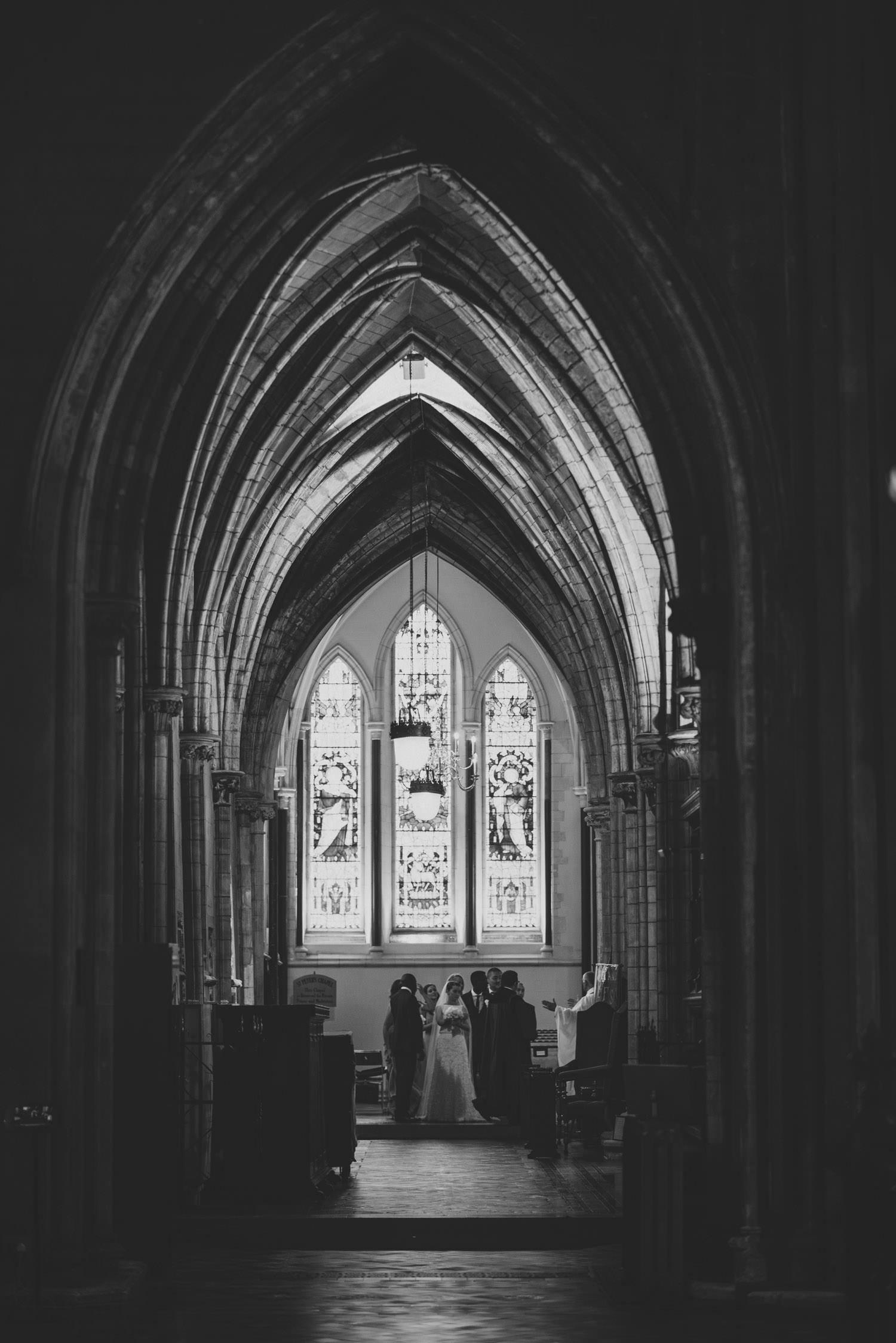 Dublin City Wedding Photos St Patricks Cathedral, Kenyan wedding