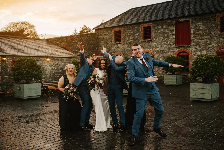 Larchfield Winter Wedding Photos, Belfast wedding photographers