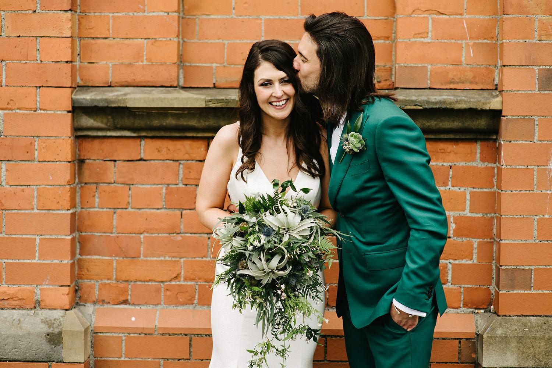 St. Malachy's Church George's Market Wedding Photos Belfast