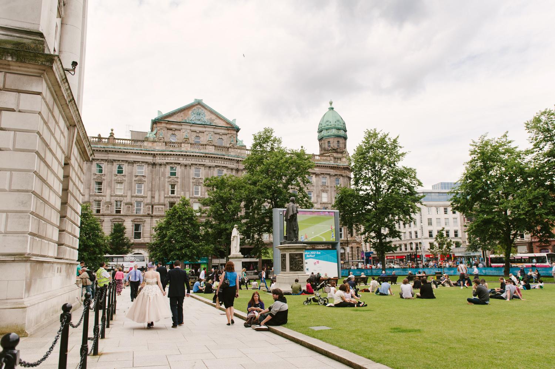 Belfast's ever-buzzing City Hall