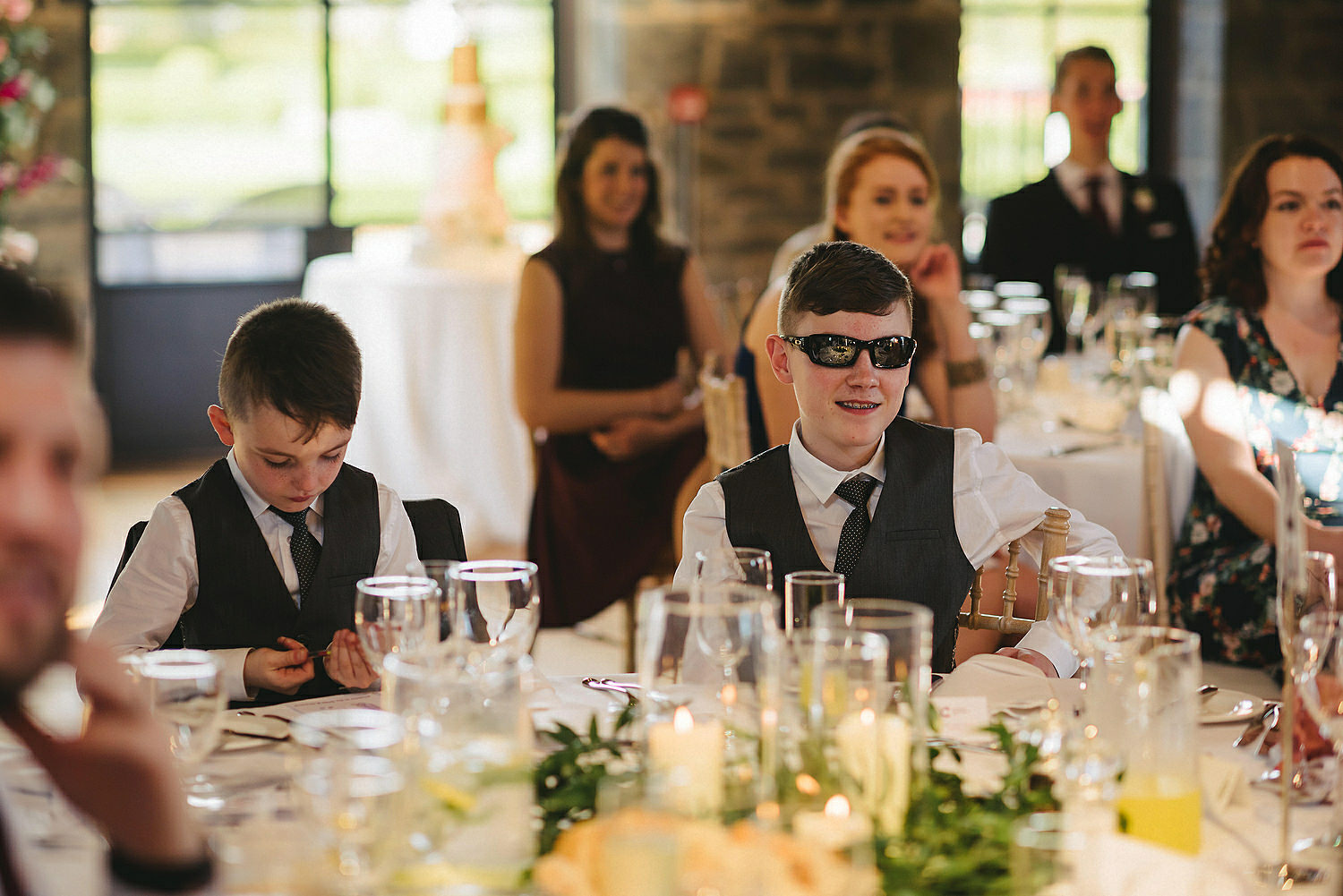The Carriage Rooms at Montalto Wedding Photos. Humanist Wedding Northern Ireland