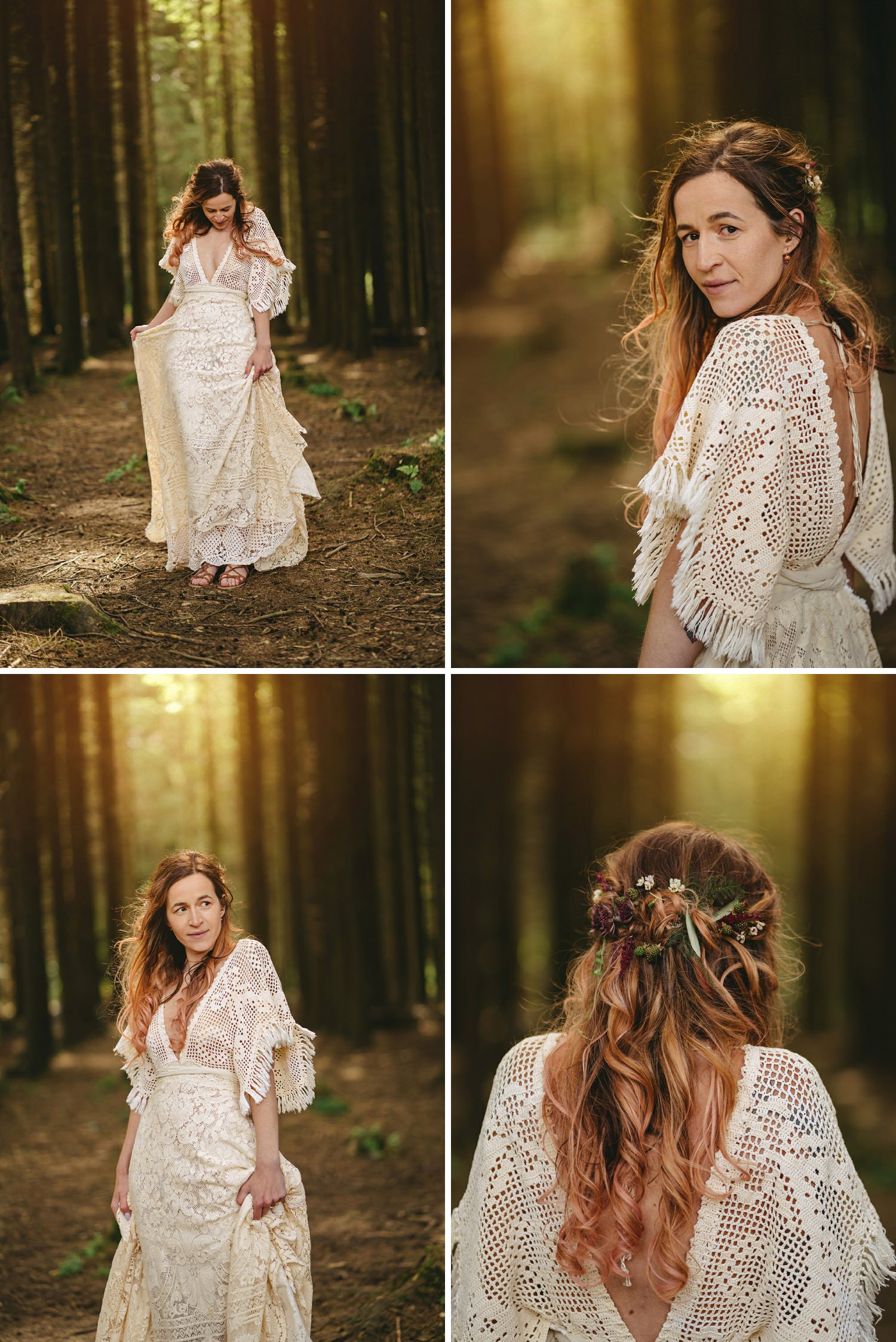 Reclamation wedding Dress design. Alternative Bride