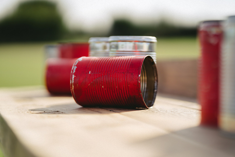 Alternative Wedding lawn games ideas. Clay Pigeon Shooting. Axe Throwing.