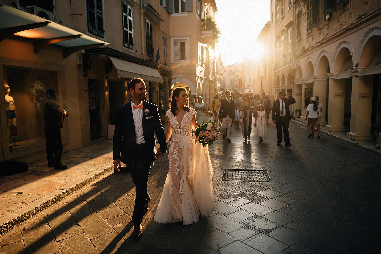 Eva and Stathis Corfu Wedding Photos, Danilia Village film location of the Durrells. English speaking wedding photographers Greece, Corfu.