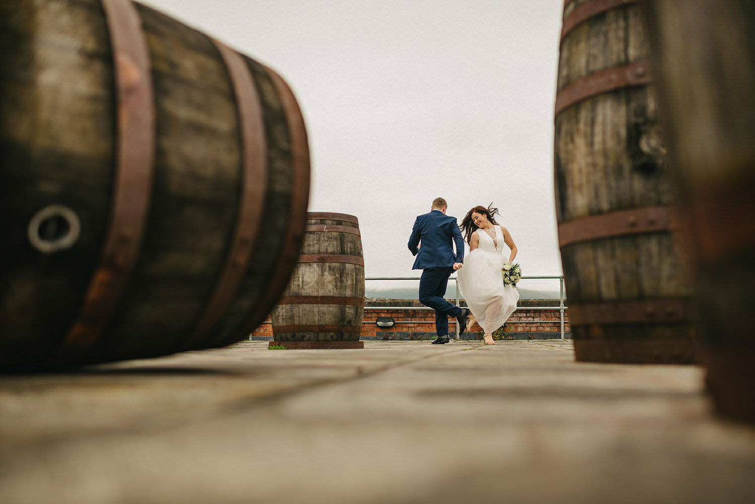 Wedding Photographers Northern Ireland.  Belfast city elopement