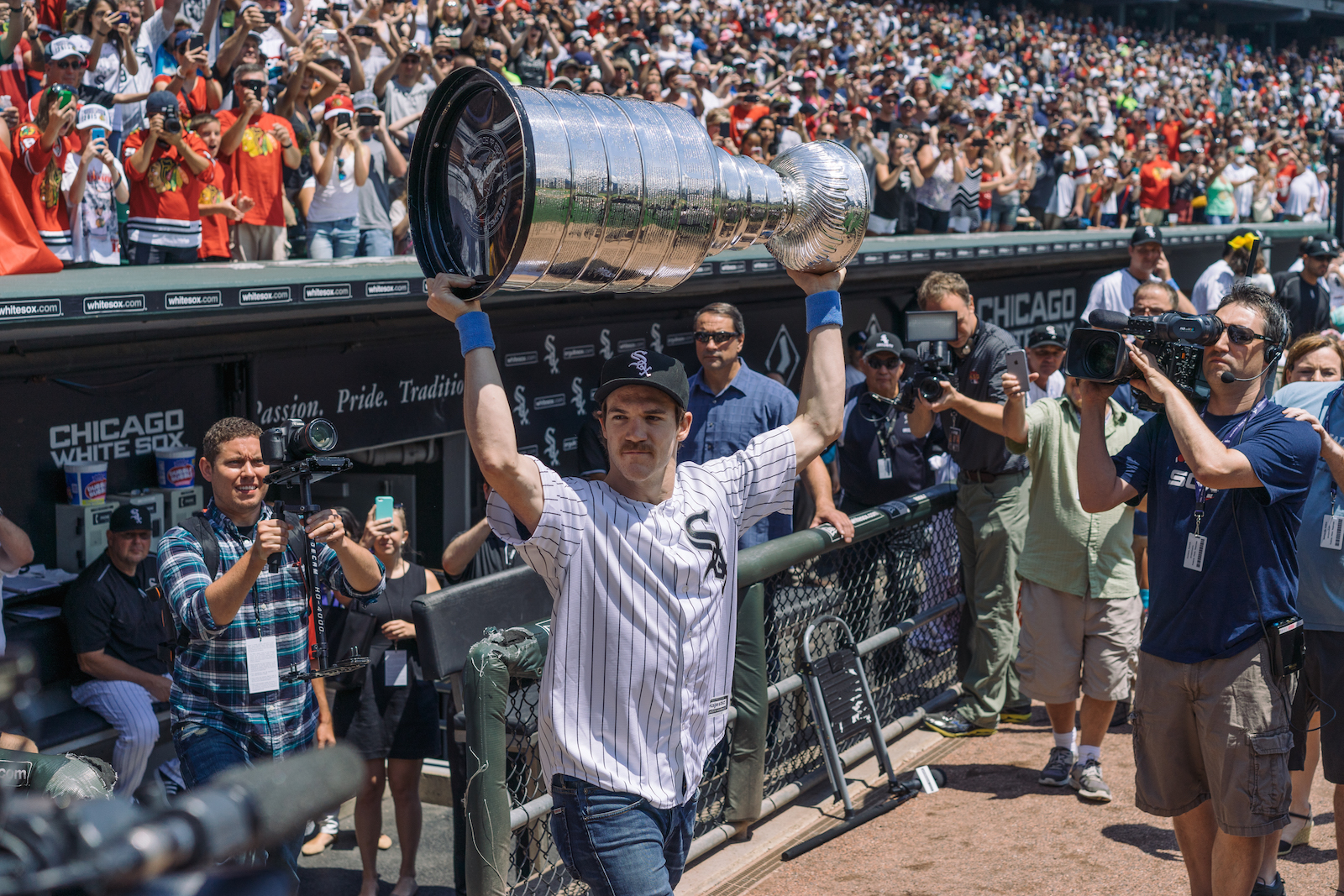 Andrew Shaw. Lord Stanley's Cup. A proud city.