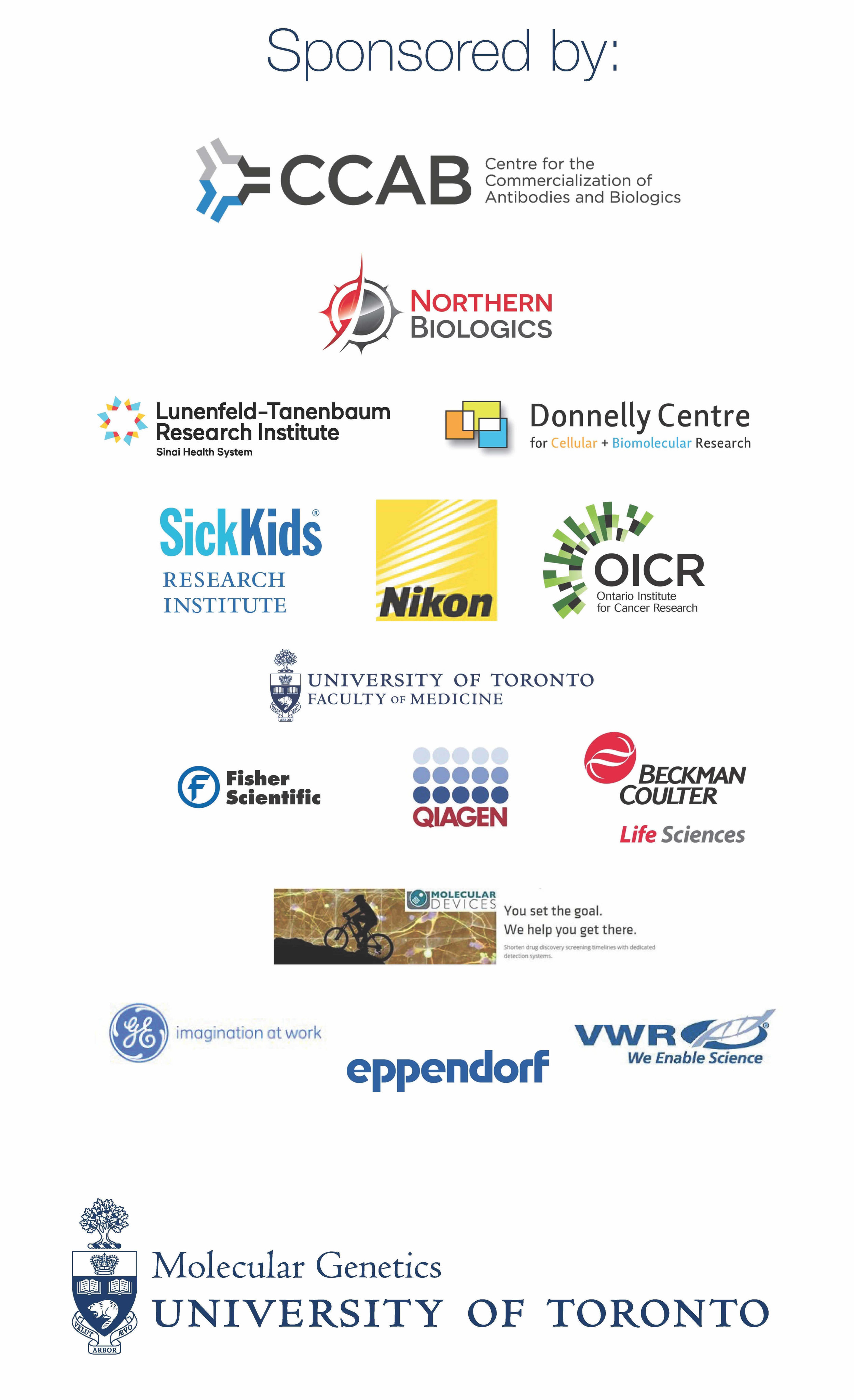 Thanks to all our sponsors!