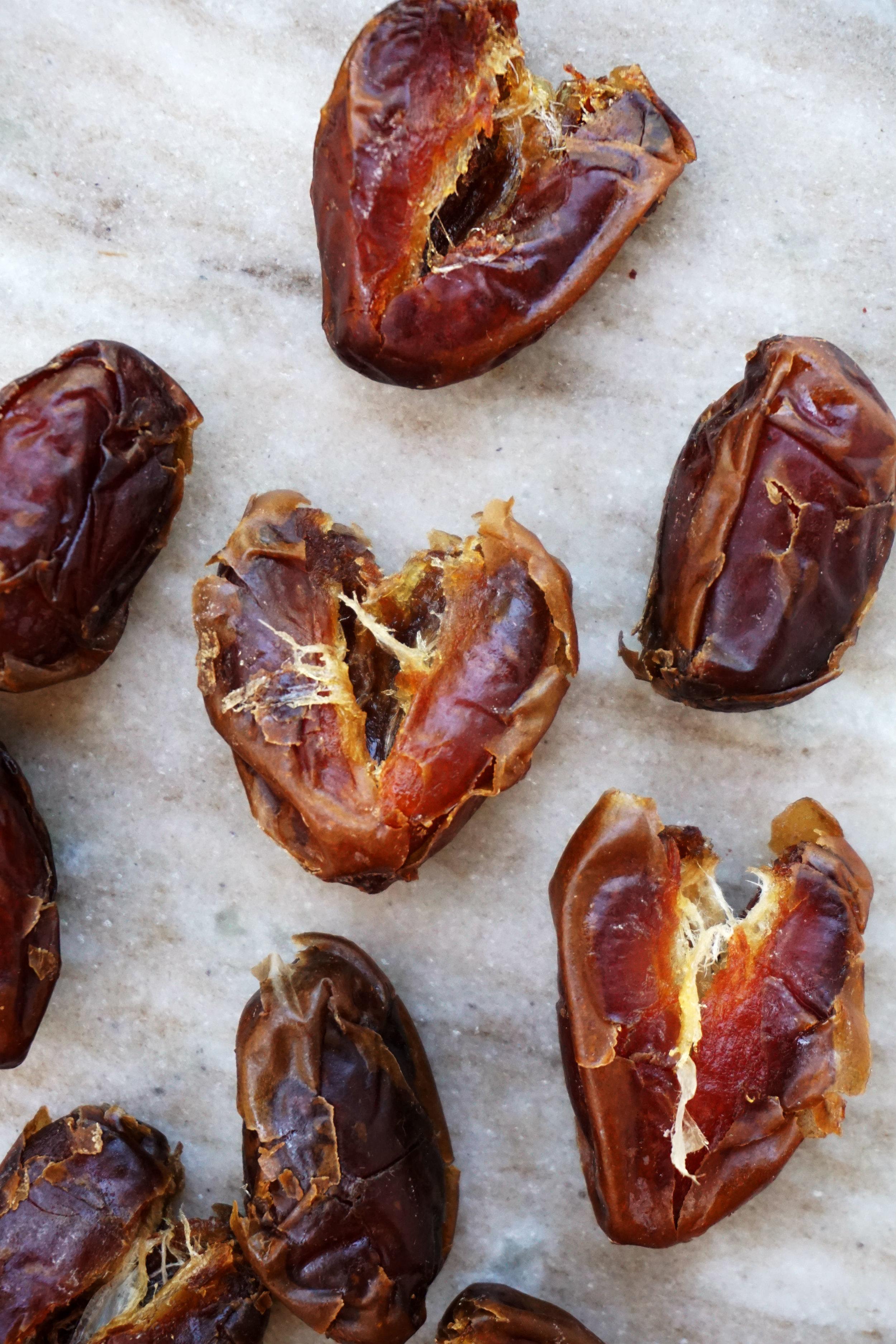 Chocolate-Dipped Date Bombs (Vegan, GF, Paleo)