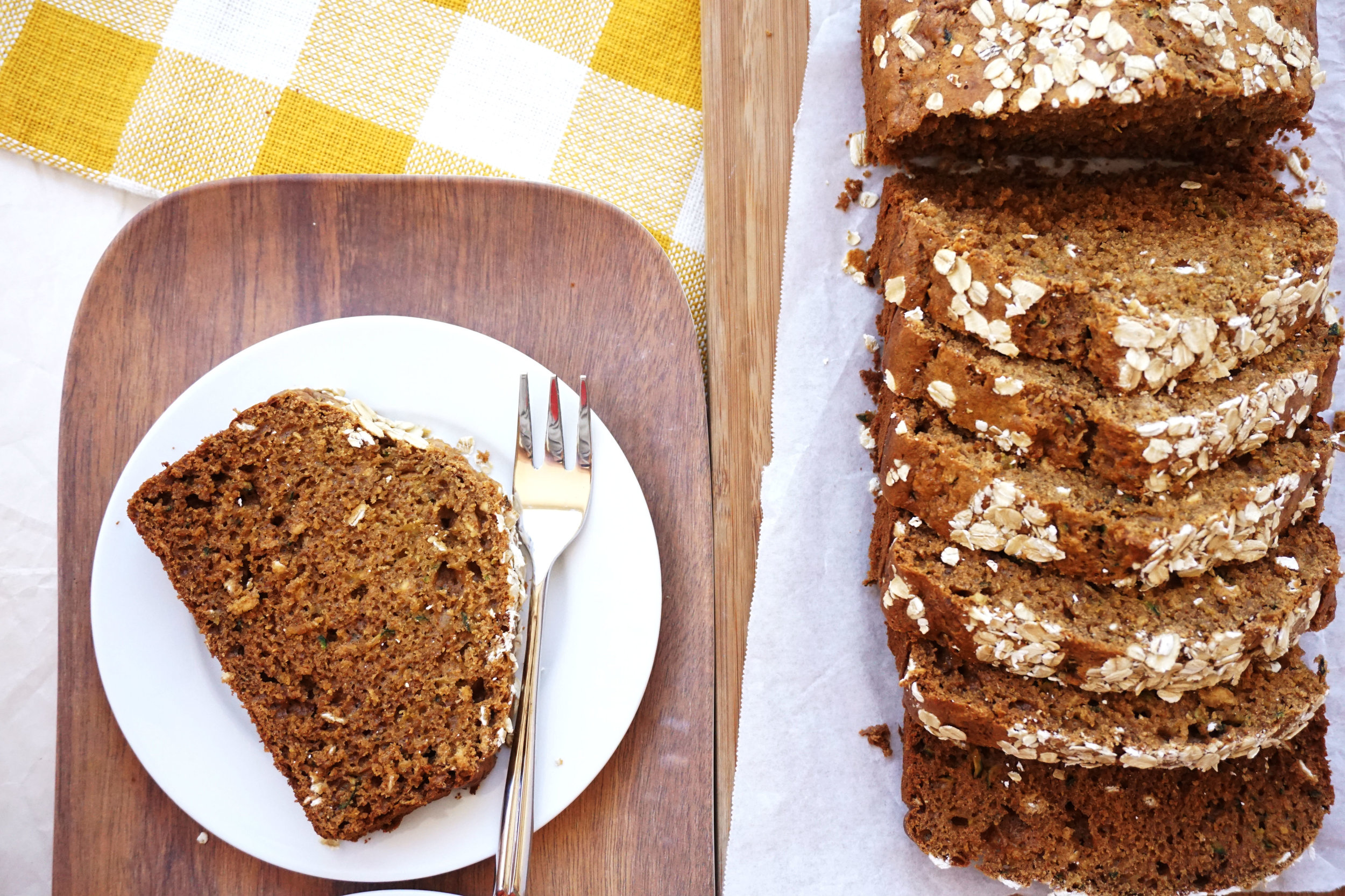 Whole Wheat Zucchini Bread (in a blender!)