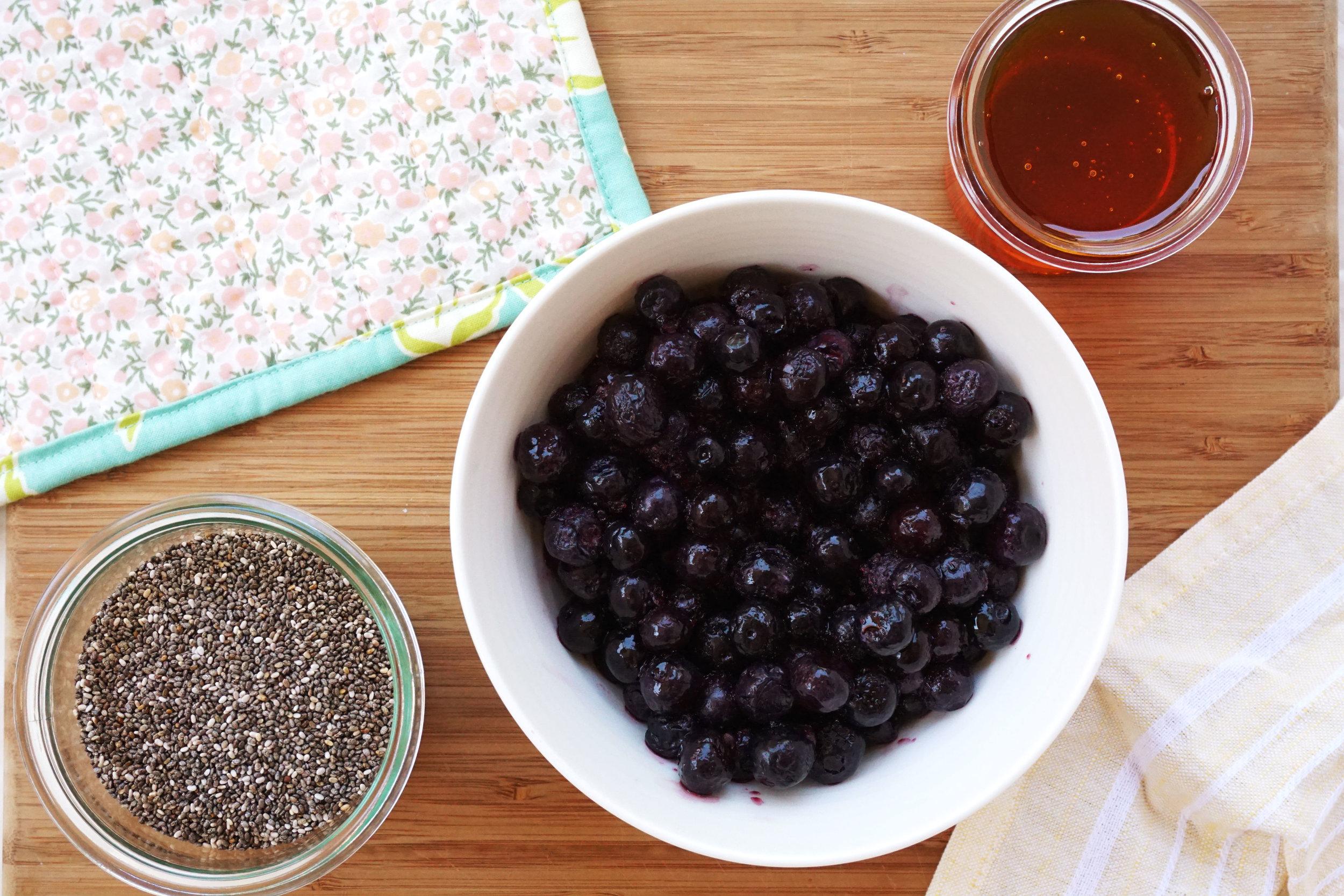 Blueberry Chia Jam (GF)