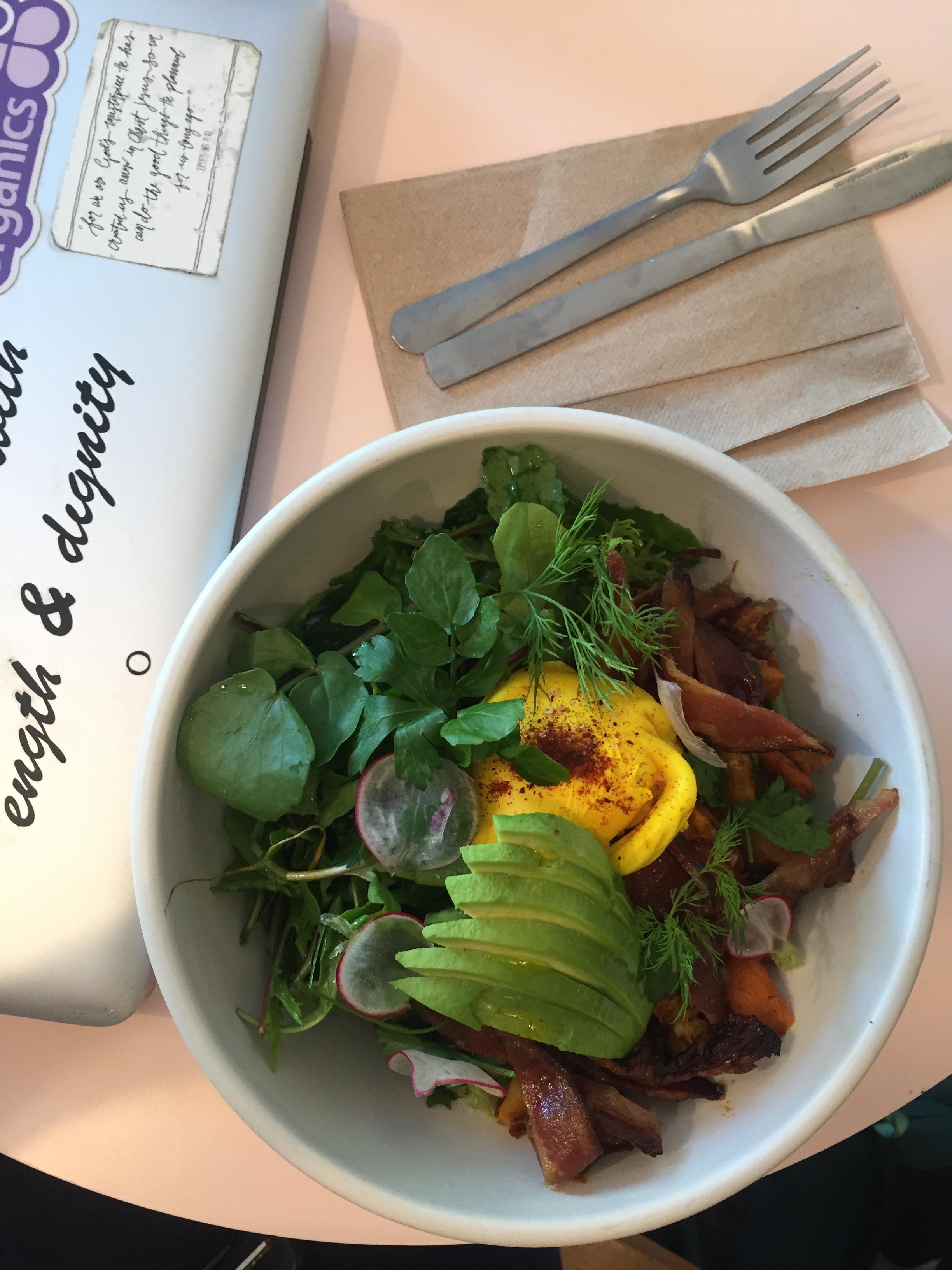 breakfast bowl from  Honey Hi  in LA.