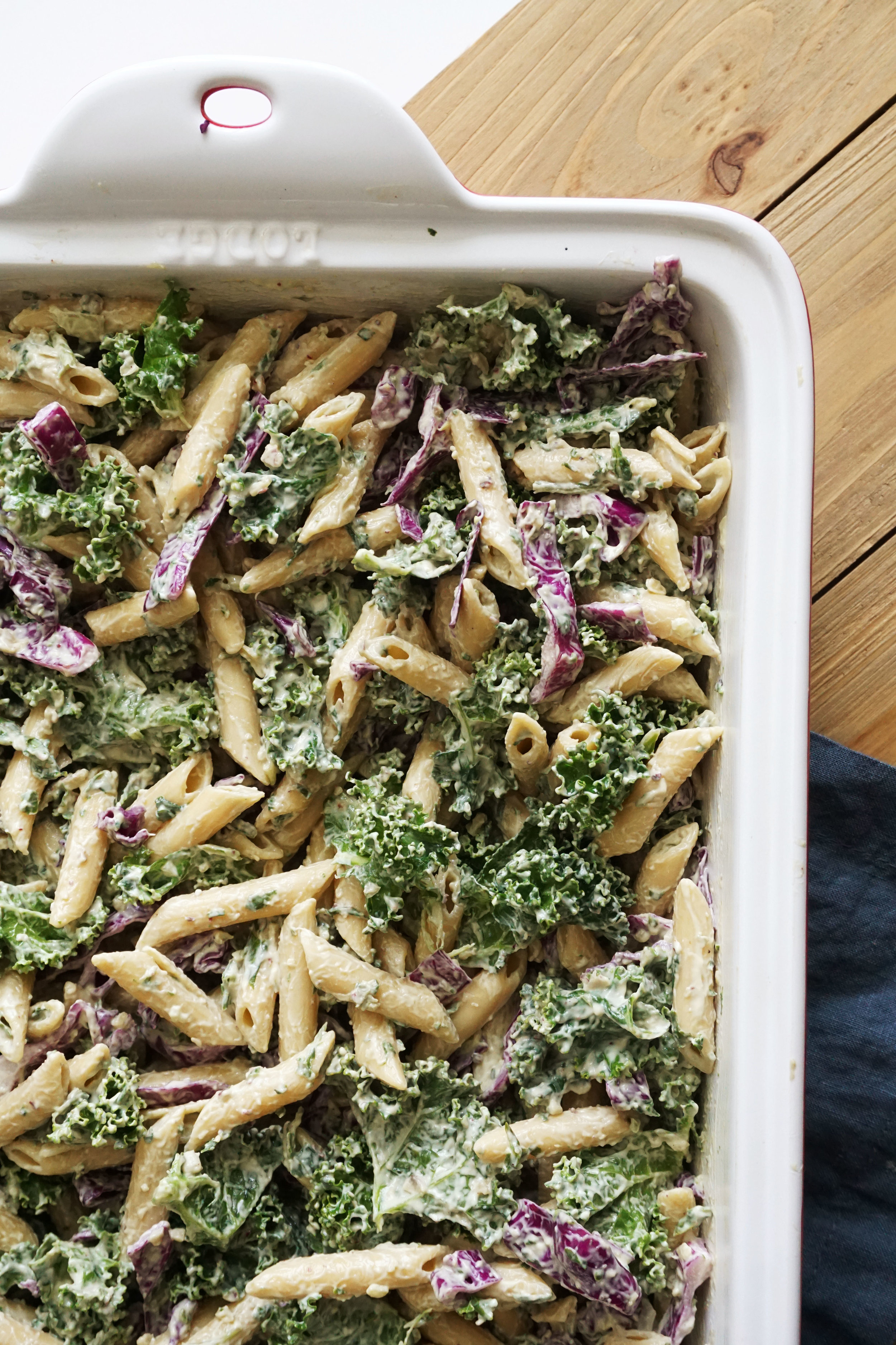 Pesto Pasta Salad (GF, Dairy-free)