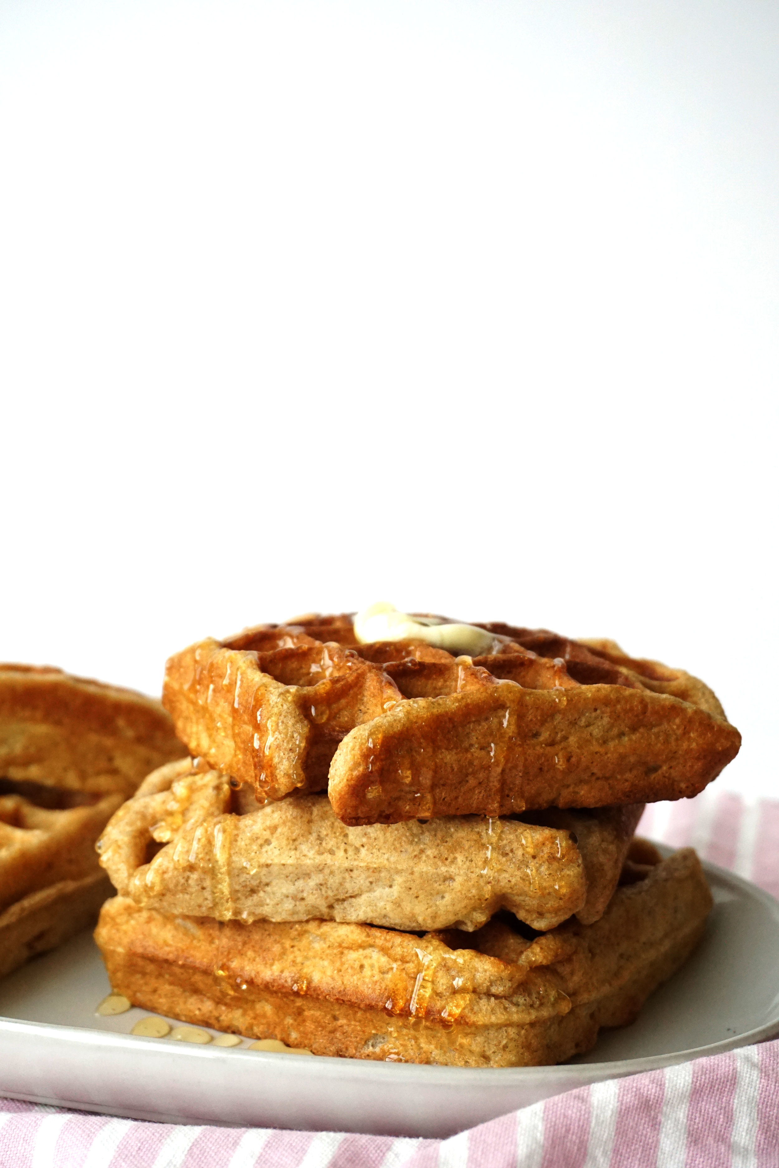 Classic Whole-Wheat Buttermilk Waffles