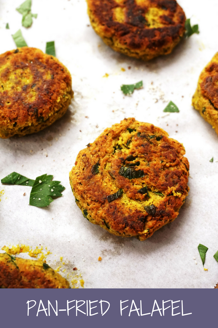 Pan-Fried Falafel (Vegan, Grain-free)