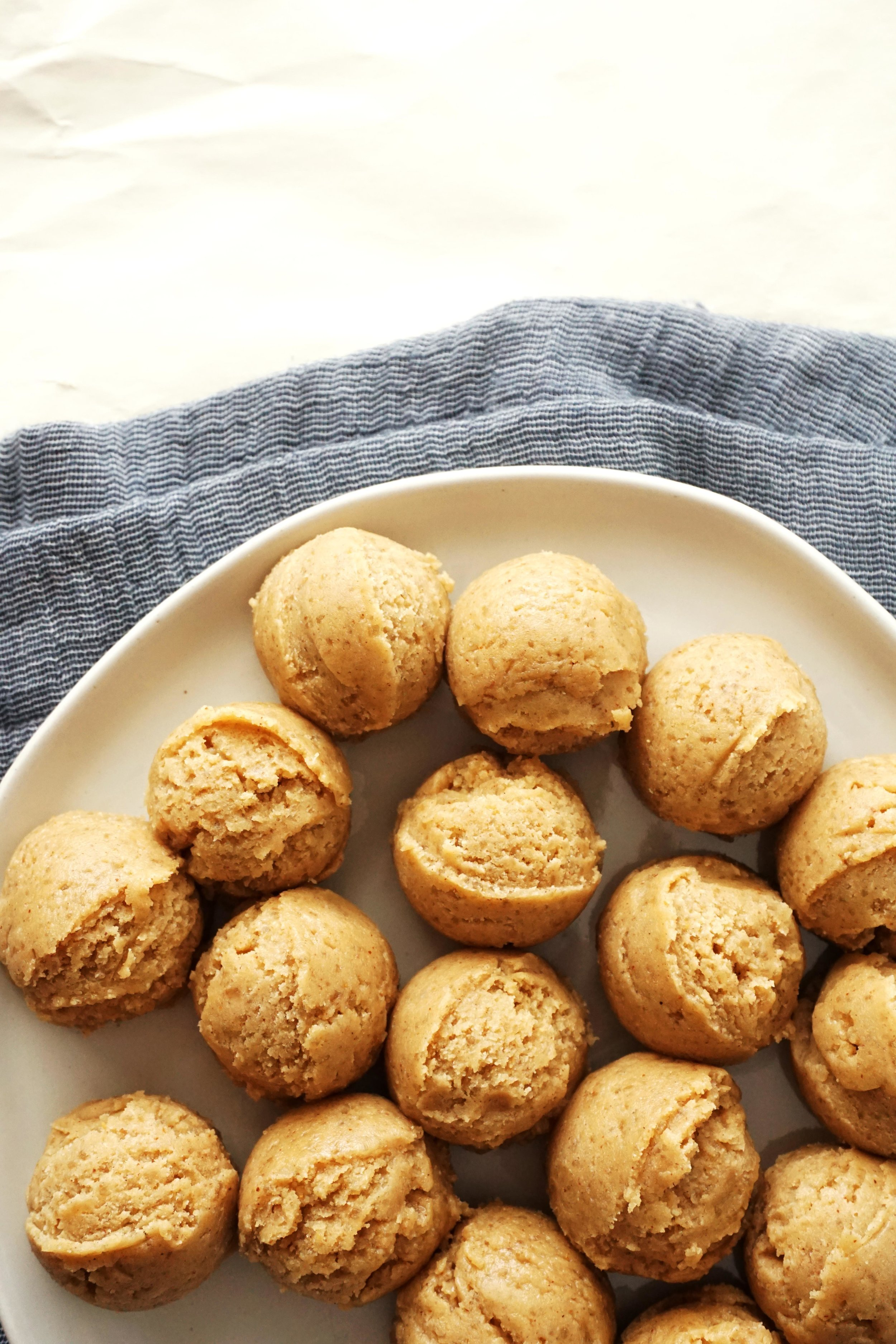 Peanut Butter Blossoms (DF, GF option)