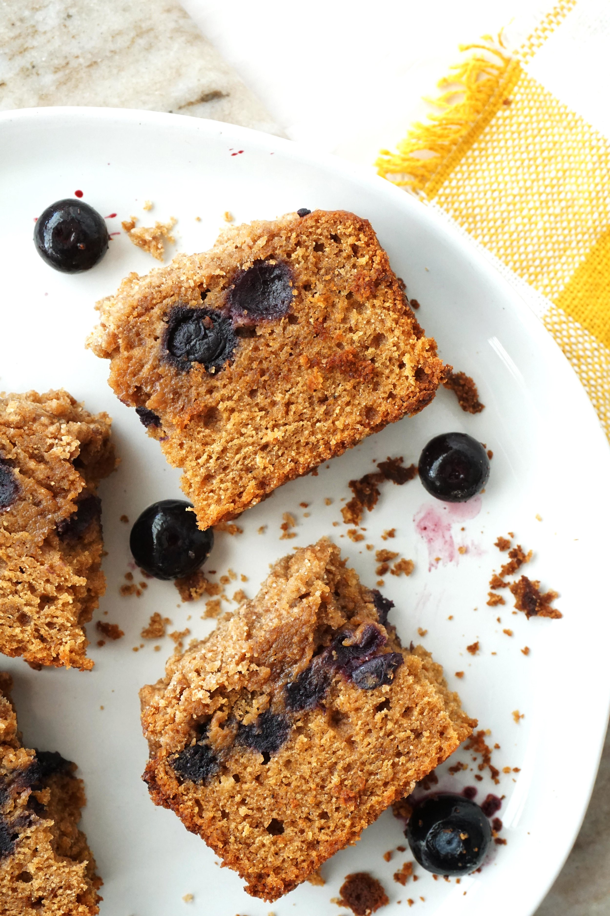 Brown Butter Blueberry Crumble Coffee Cake