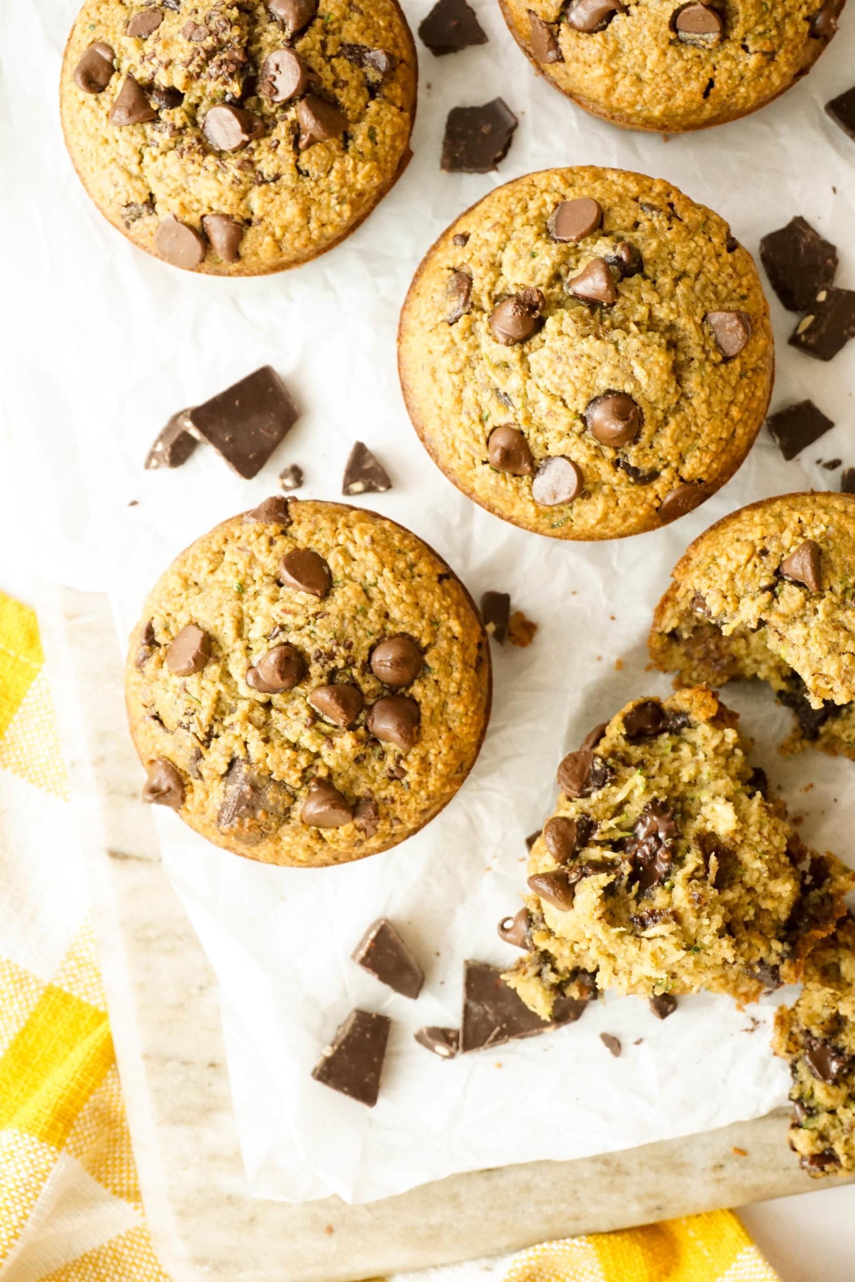 Dark+Chocolate+Zucchini+Bread+Muffins+%28GF%2C+DF%29
