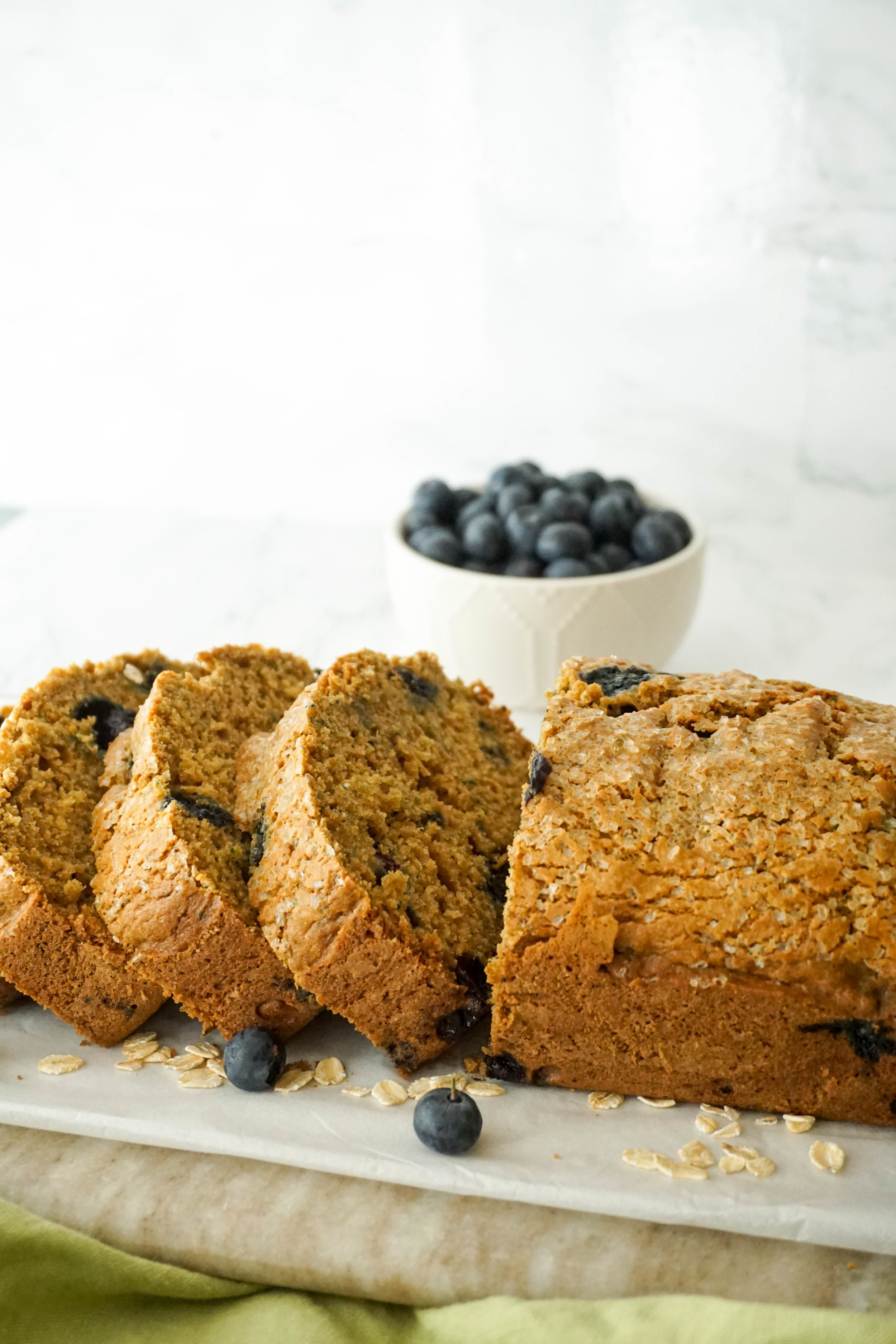 Blueberry Lemon Zucchini Bread