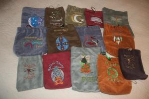 Custom Tarot Bags by Joanne