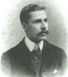 Photo of Waite in 1880, public domain, via  Wikimedia Commons .