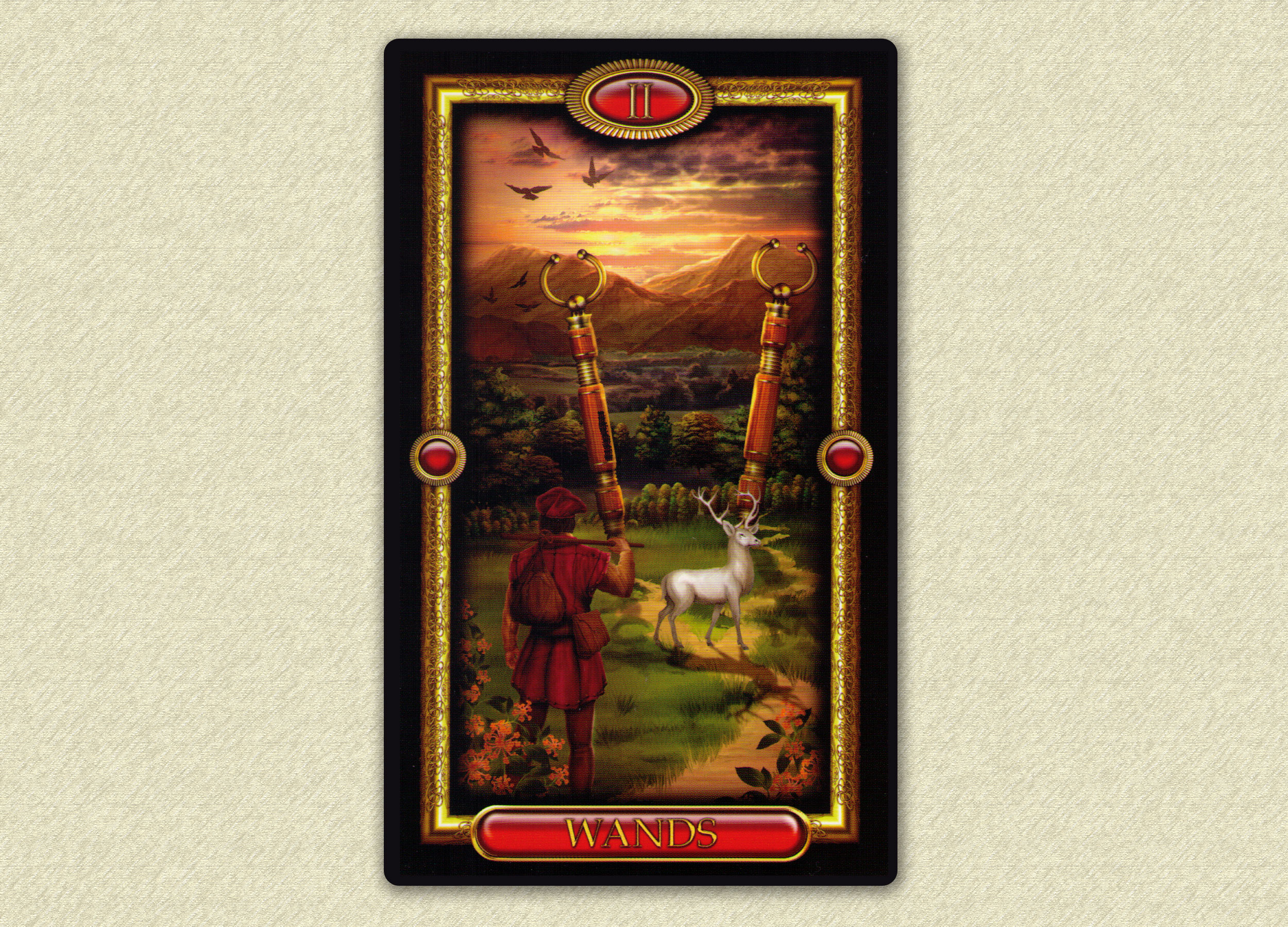 Tarot card image from The Gilded Tarot Royale by Ciro Marchetti. Used with permission.