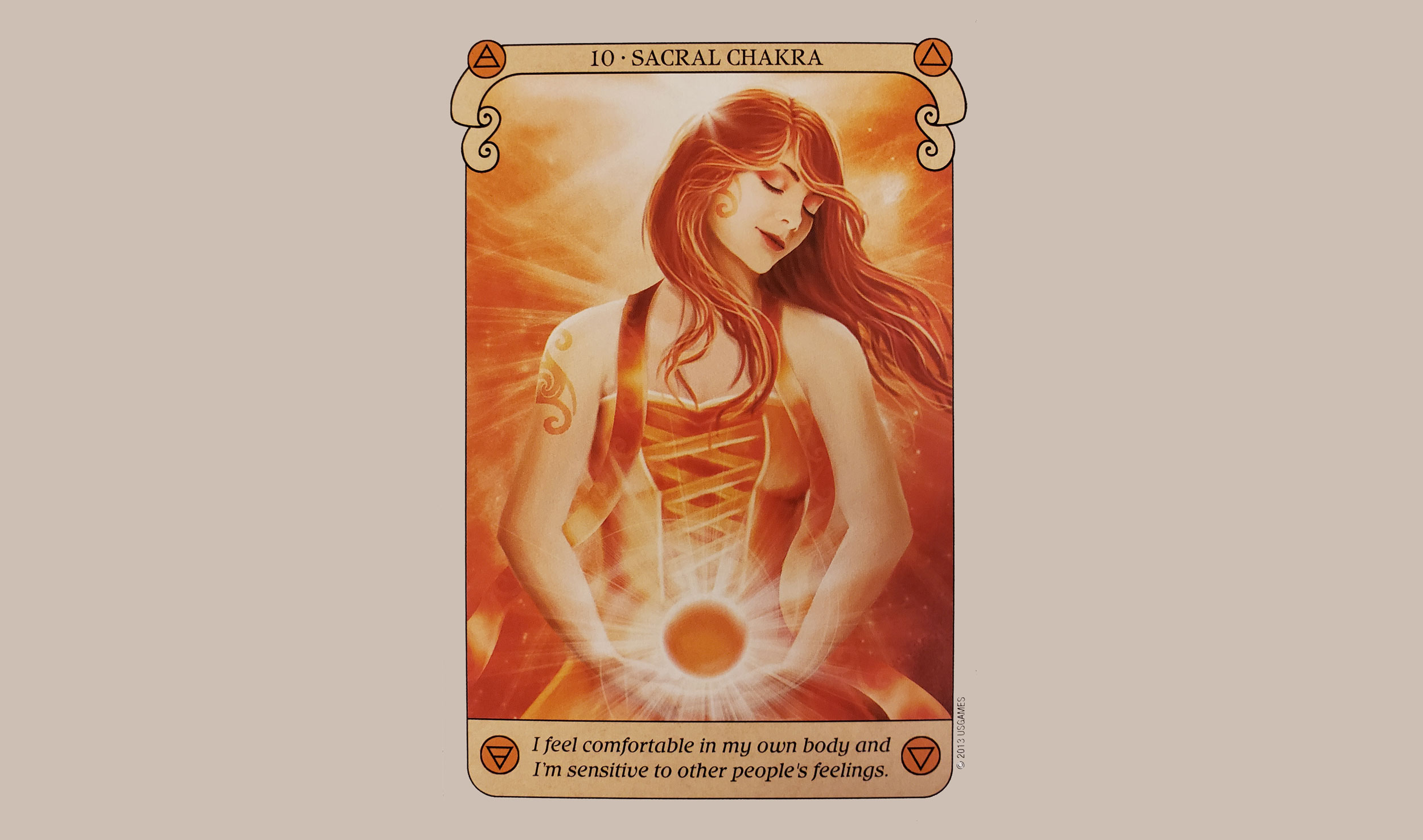 Conscious Spirit Oracle Deck Copyright (c) 2013 US Games Systems Inc. Used with permission.