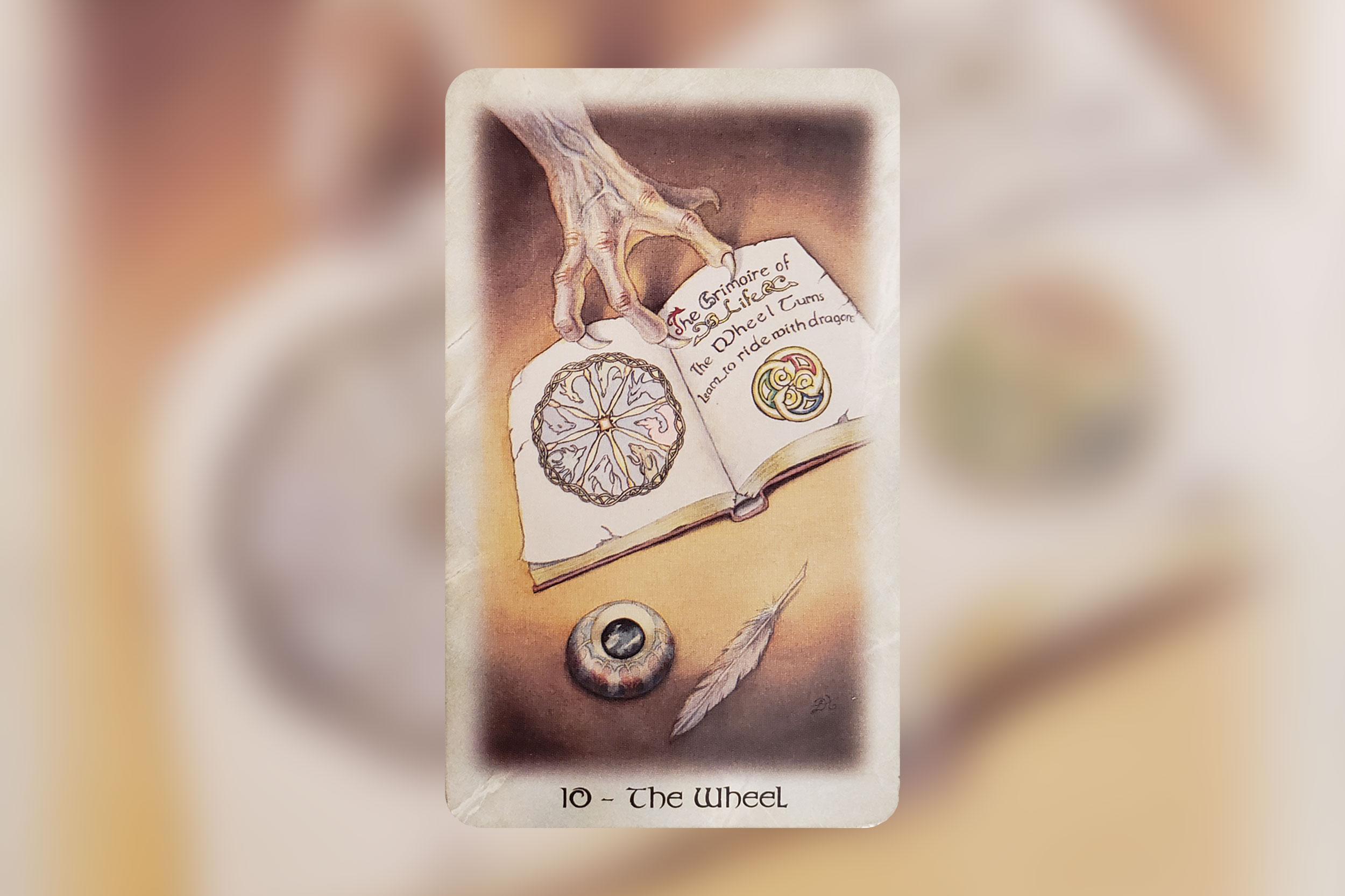 Image from Celtic Dragon Tarot by Lisa Hunt, published by Llewellyn Worldwide. Used with permission.
