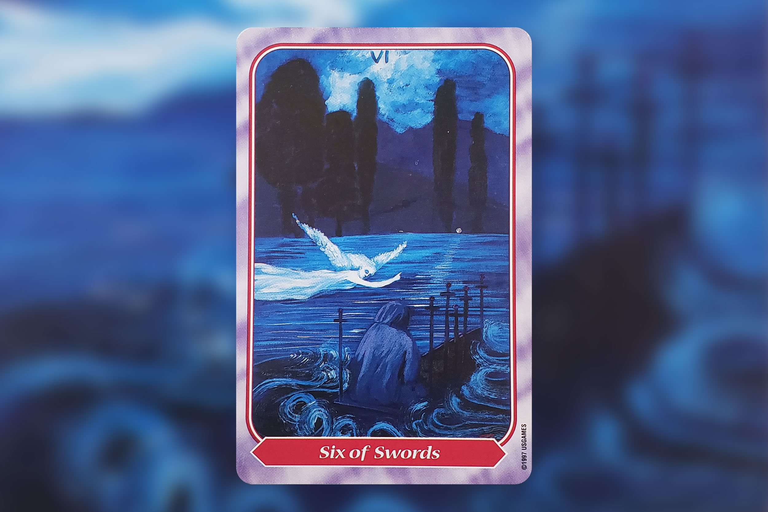Image from Spiral Tarot by Kay Steventon, published by U.S. Games Systems, Inc. Copyright 1997, Used by permission.