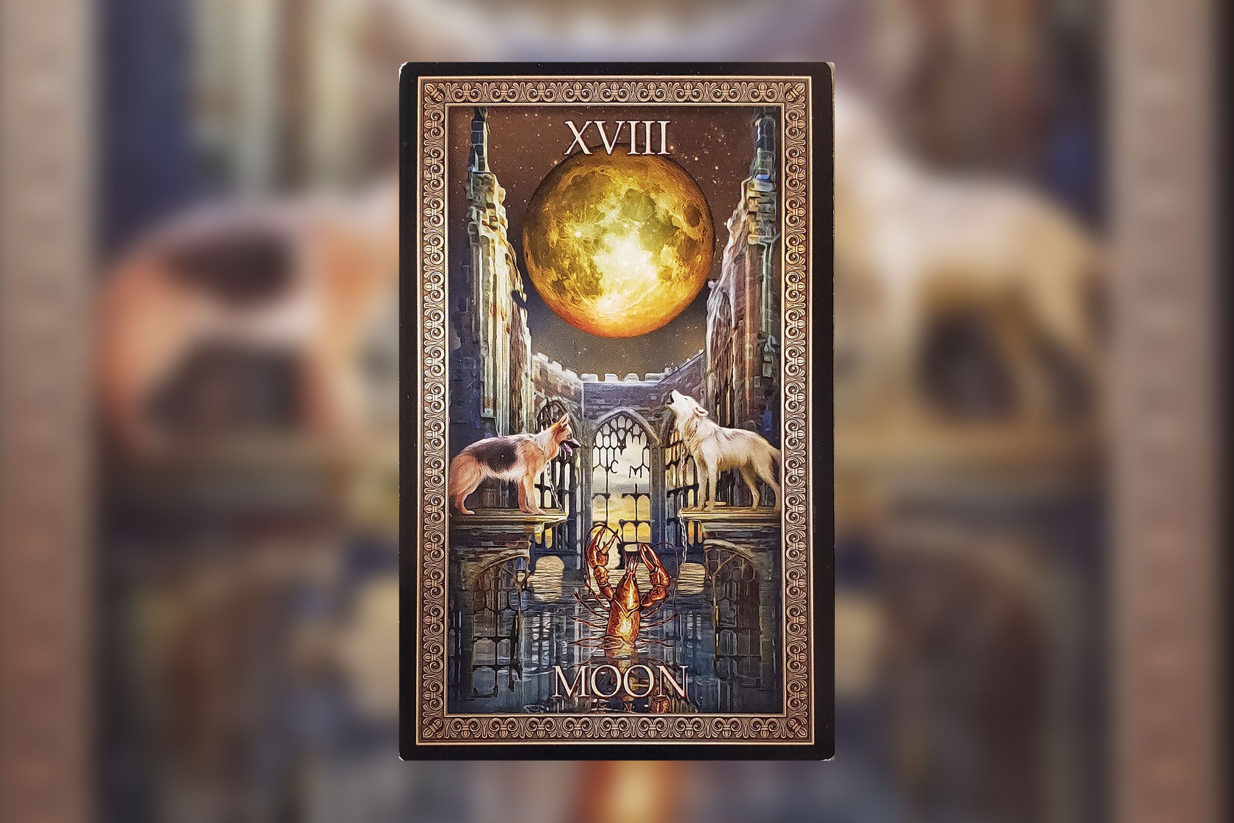 Image from Tarot Grand Luxe by Ciro Marchetti, published by U.S. Games Systems, Inc. Copyright 2019, Used with permission.