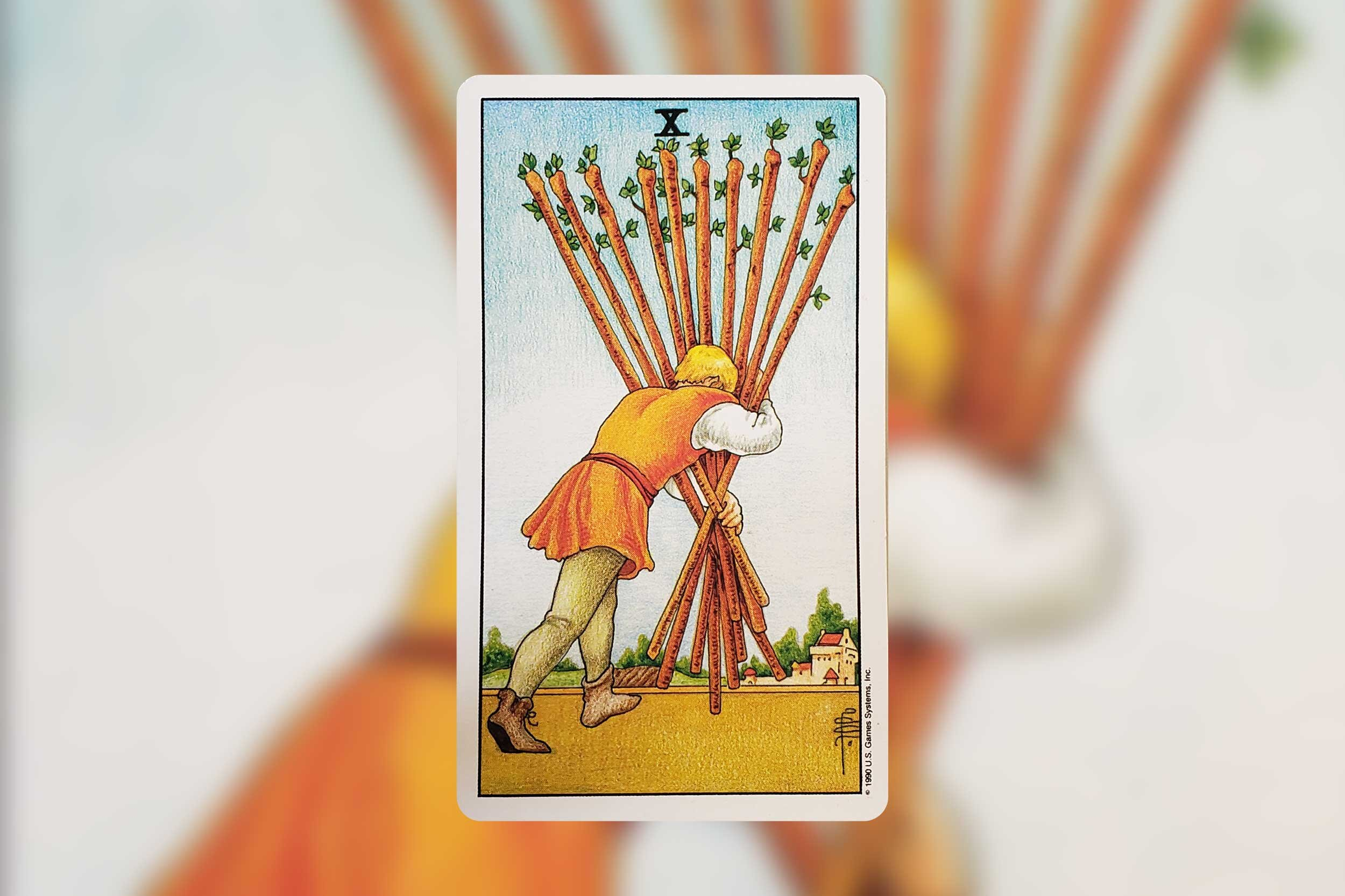 Image from Universal Waite Tarot, published by U.S. Games Systems, Inc. Copyright 1990, Used with permission.