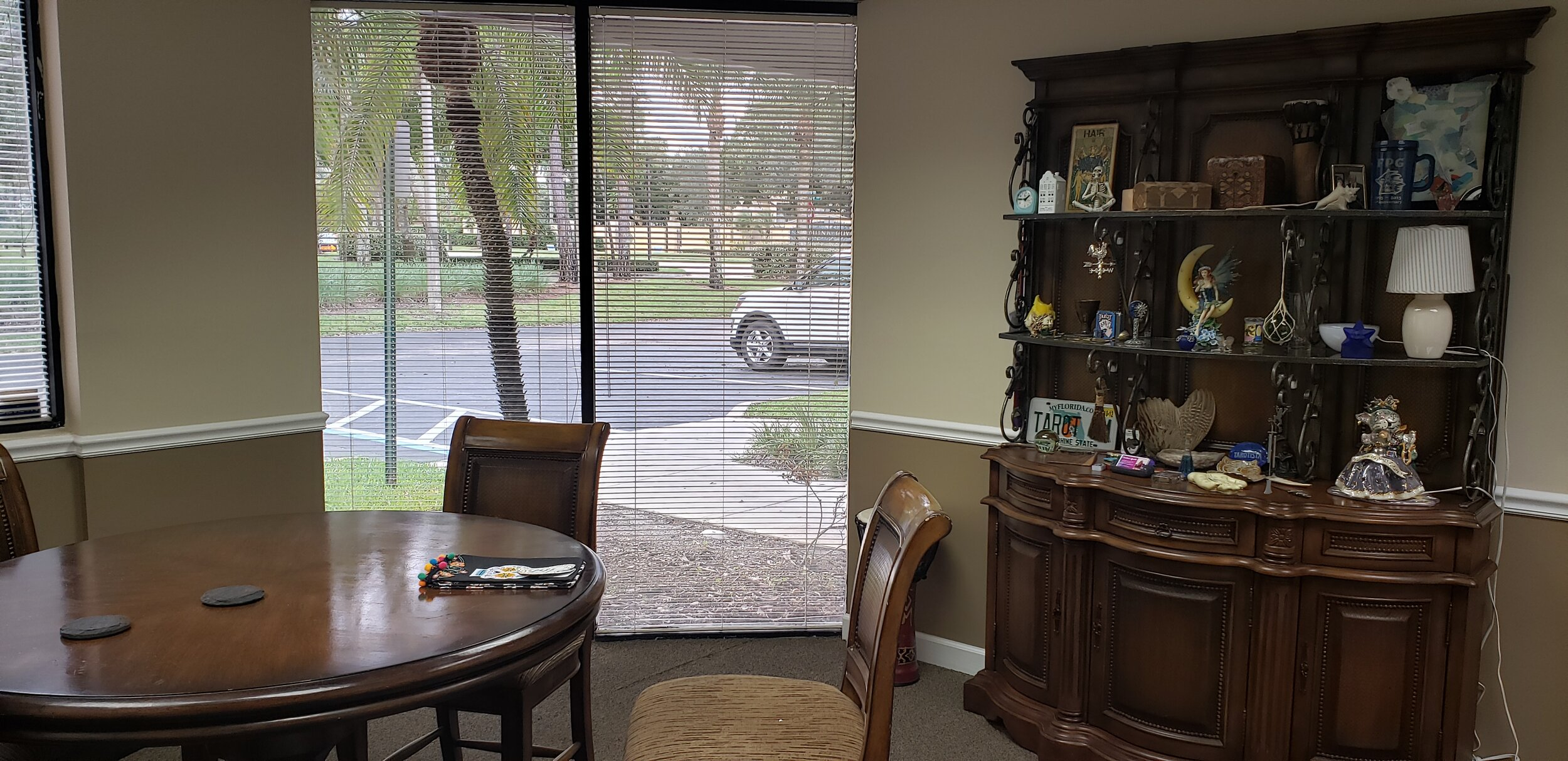Join me for a reading in my new office in Palm City!