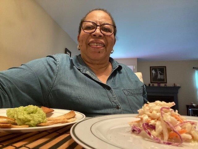 Yvonne's homemade guacamole, chips & coleslaw sess. 2.jpg