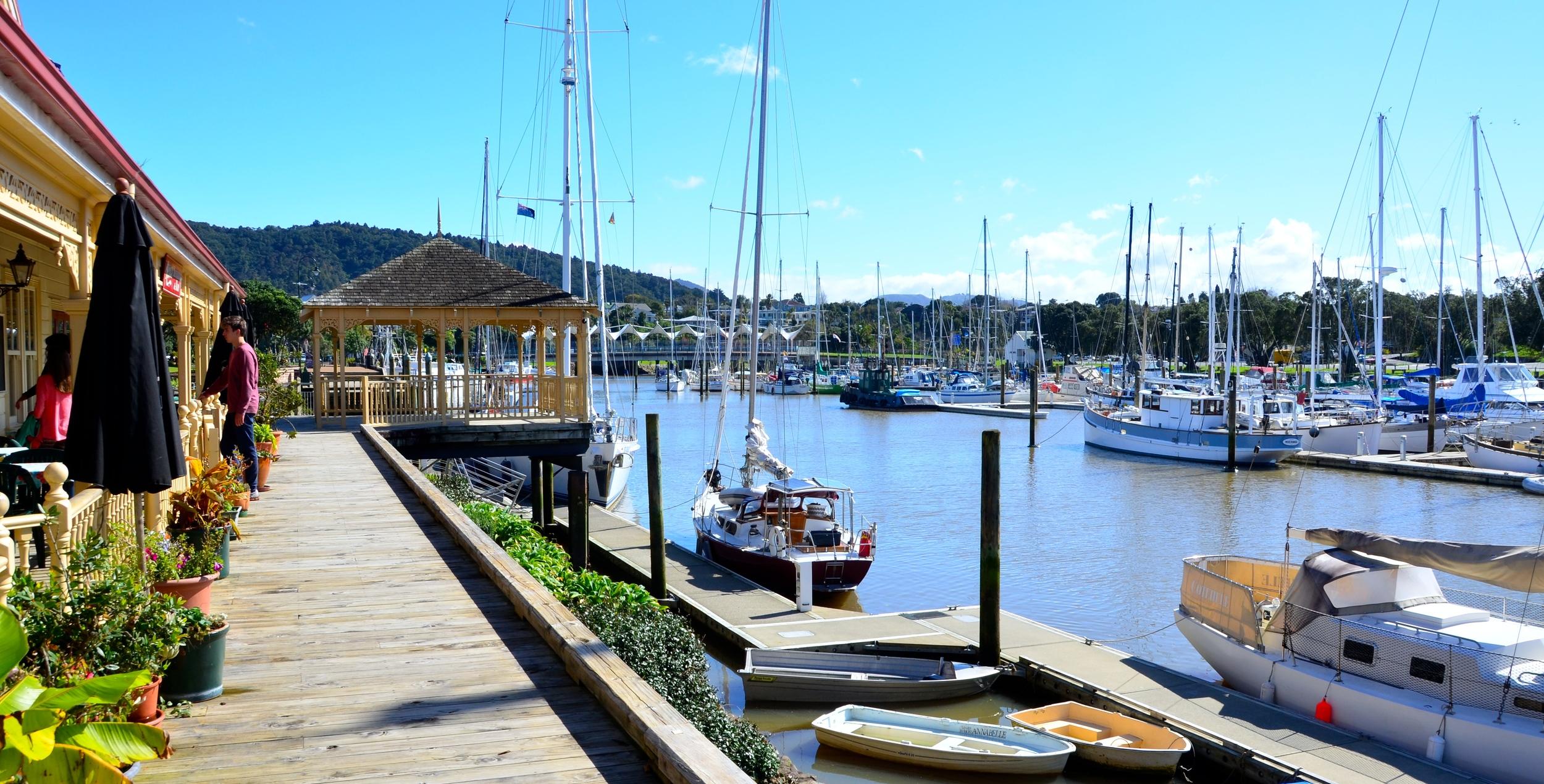 Whangarei Marina & Town Basin