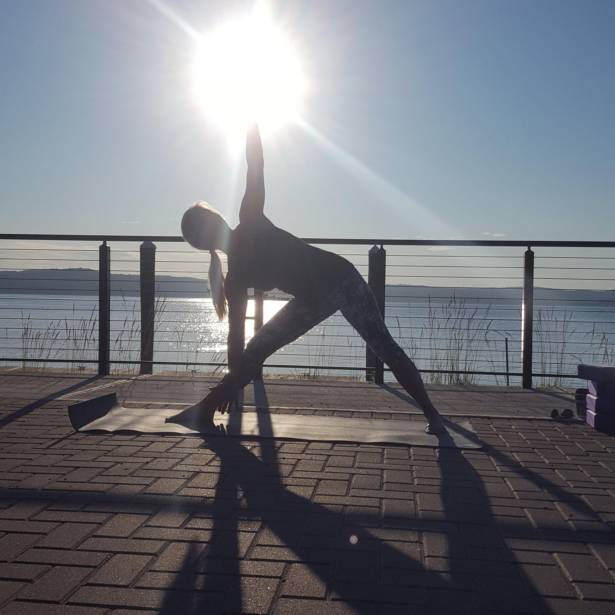 Nancy Mahon, former owner of Sanctuary Yoga of New City will be teaching a series of Summer yoga classes this month in Haverstraw's beautiful Emeline Park.  Don't Miss this unique opportunity to take a class with one of Rockland's best yoga instructor.