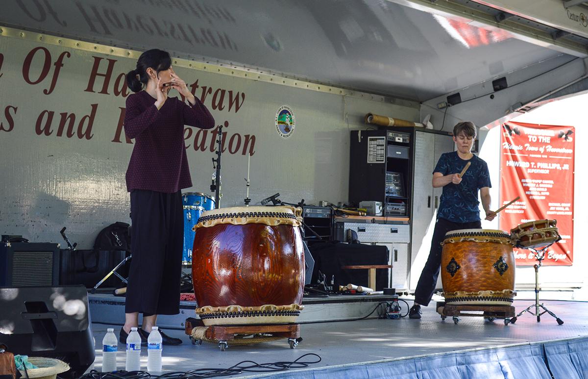 Kaoru Watanabe Taiko Center Drummers