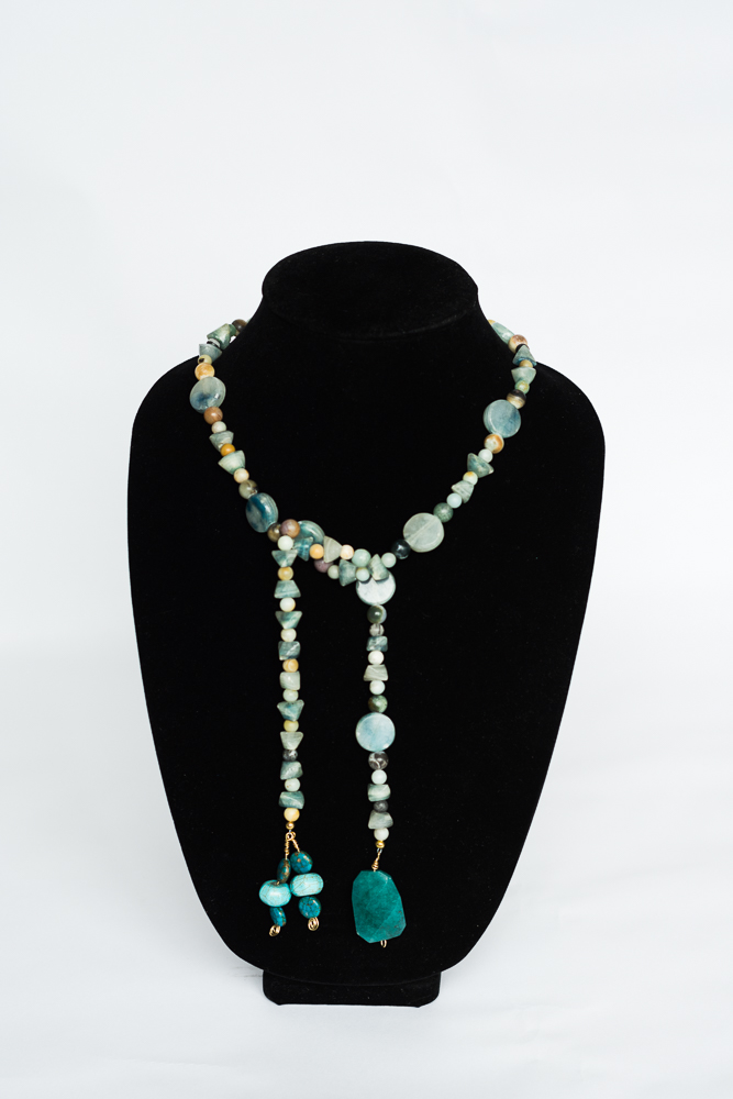 turquoise and multicolor stones lariat.jpg
