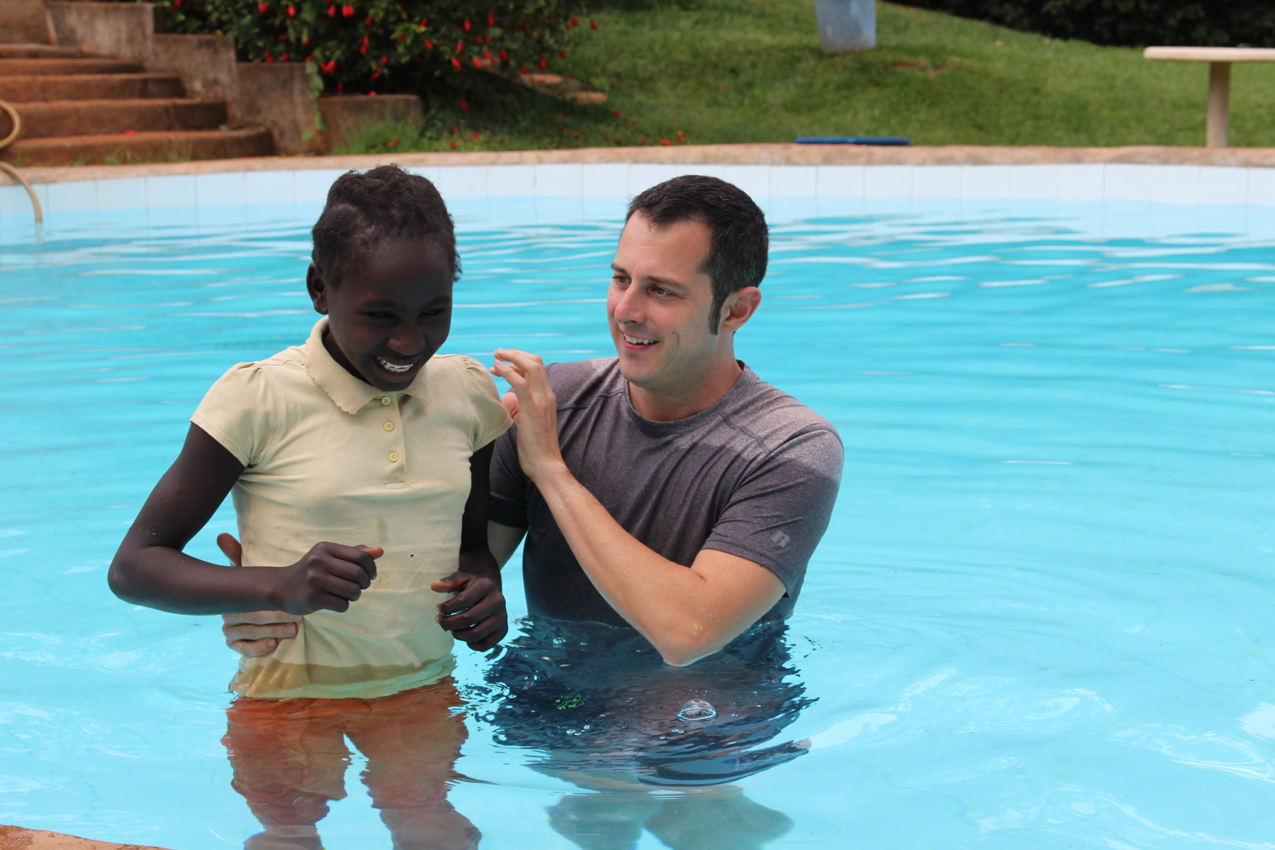 Yvonne's Baptism