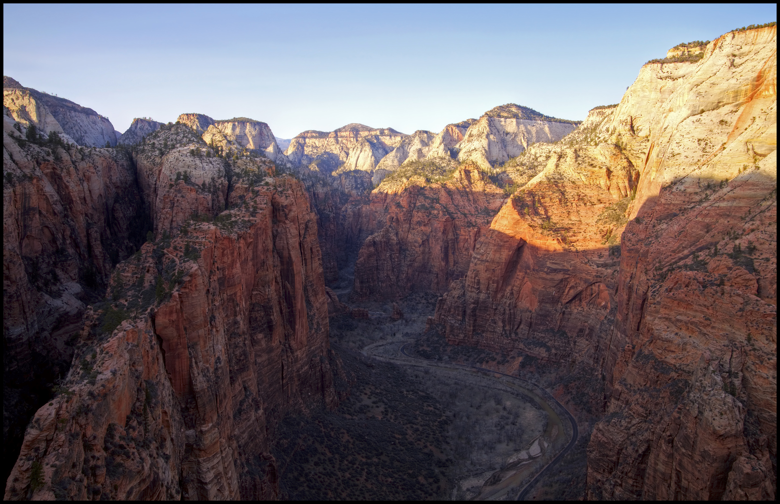 View from Angel's Landing, Zion National Park, UT