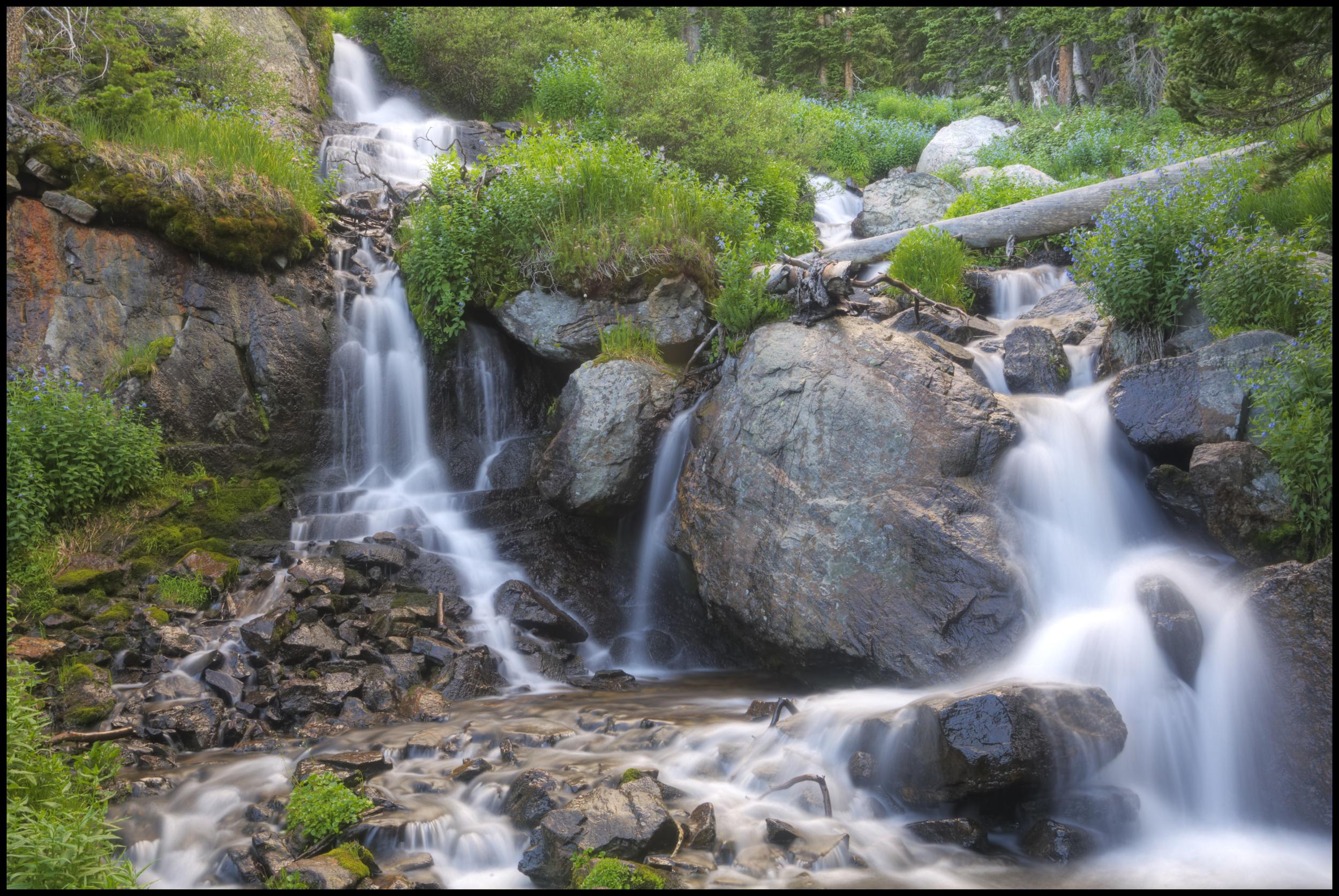 Unk. Falls, Rocky Mountain National Park, CO
