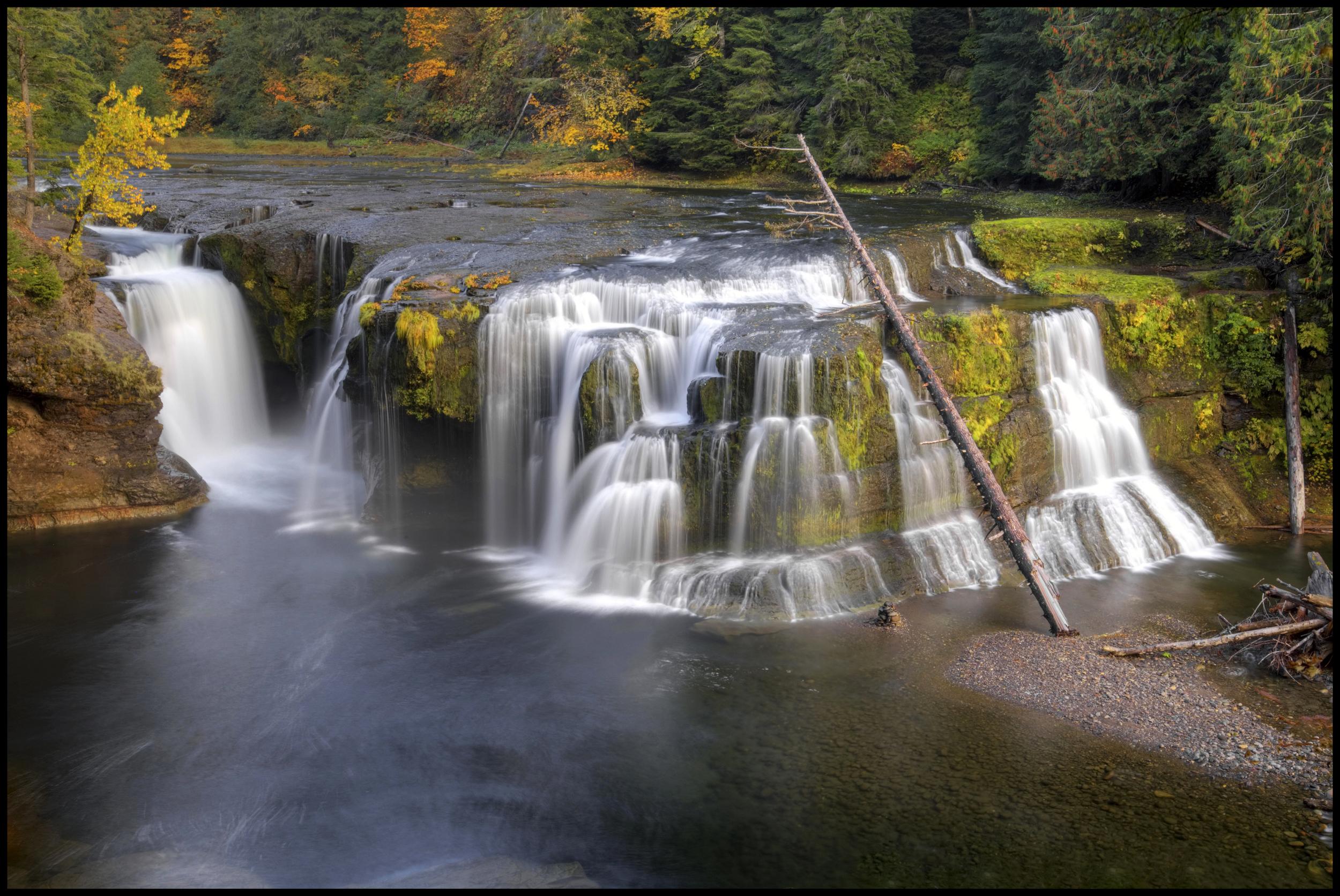 Falls near Mt. Saint Helens, WA
