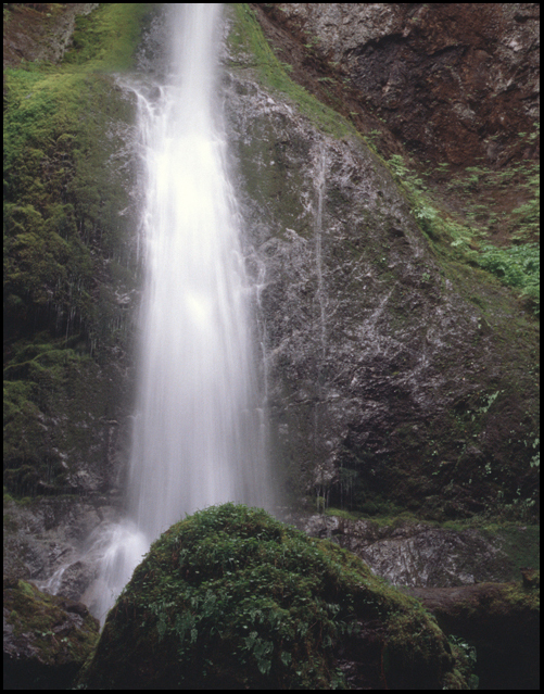 Merrymere Falls, Olympic National Park, WA