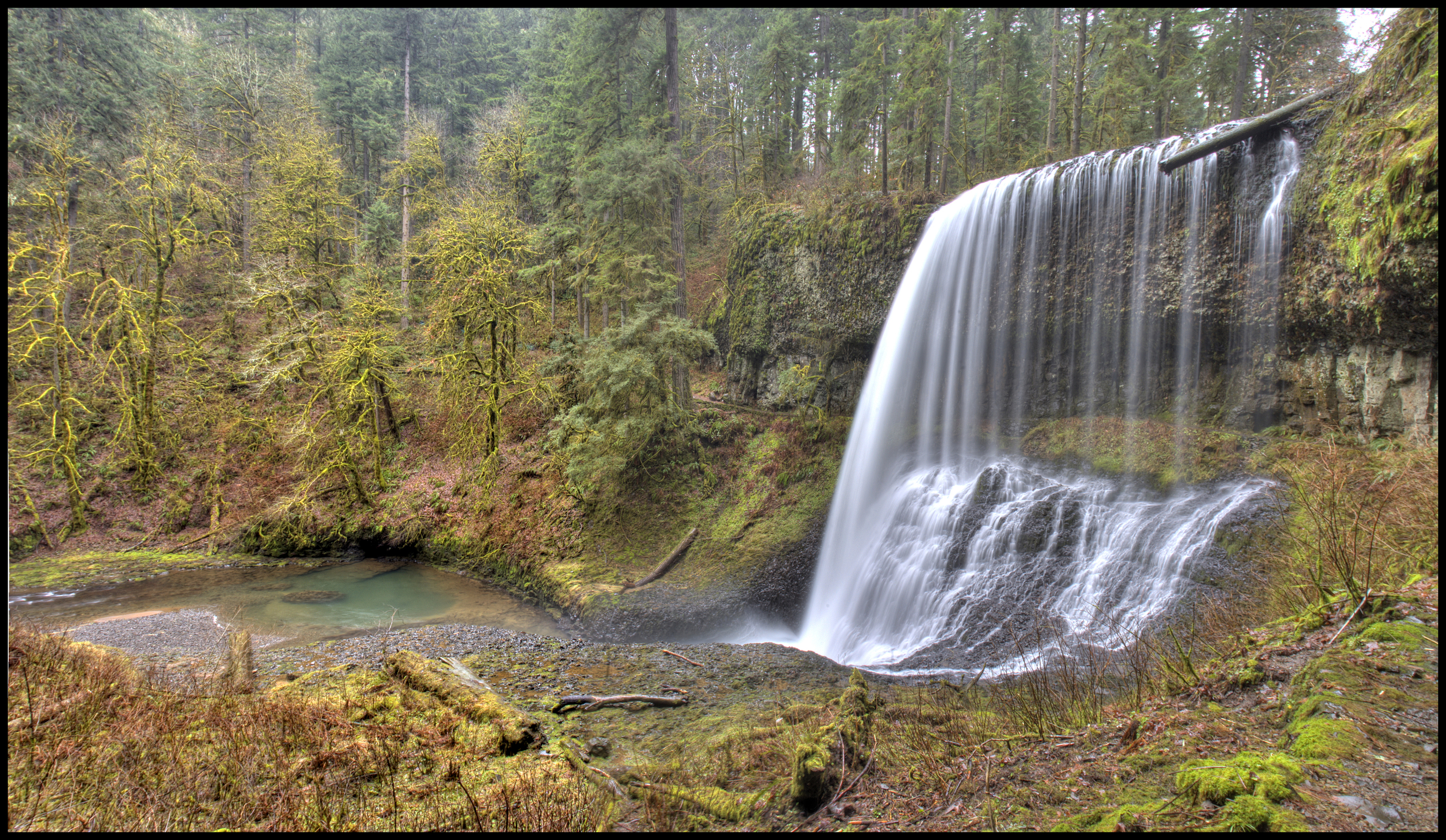 Middle North Falls, OR
