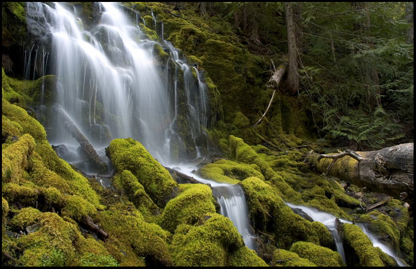 Upper Proxy Falls, OR